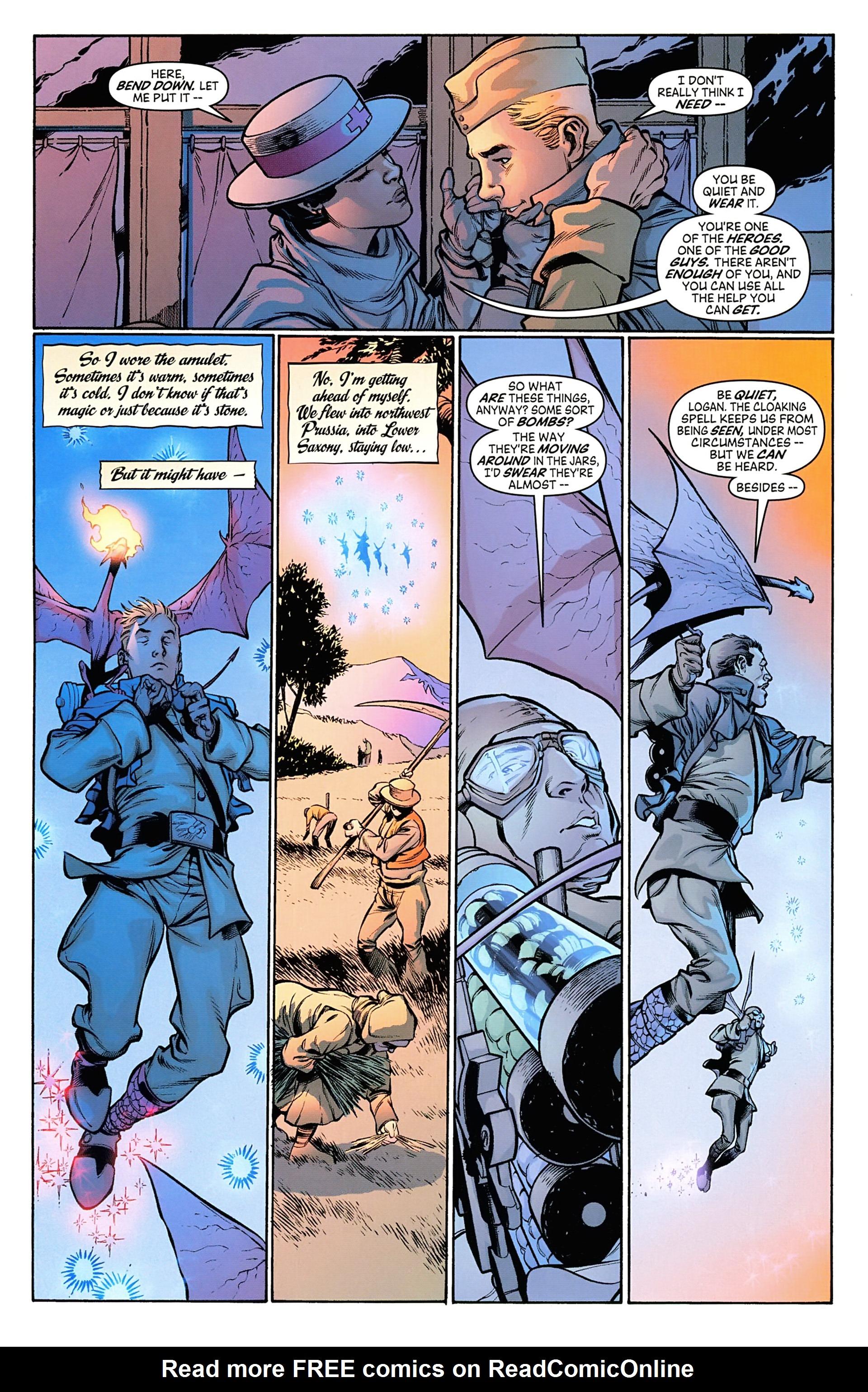 Read online Arrowsmith comic -  Issue #5 - 9