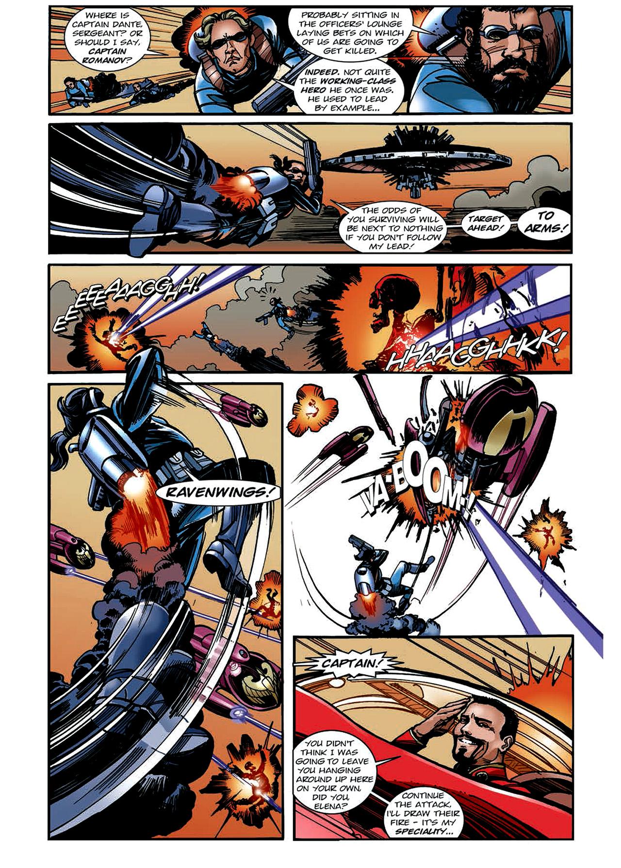 Read online Nikolai Dante comic -  Issue # TPB 4 - 129