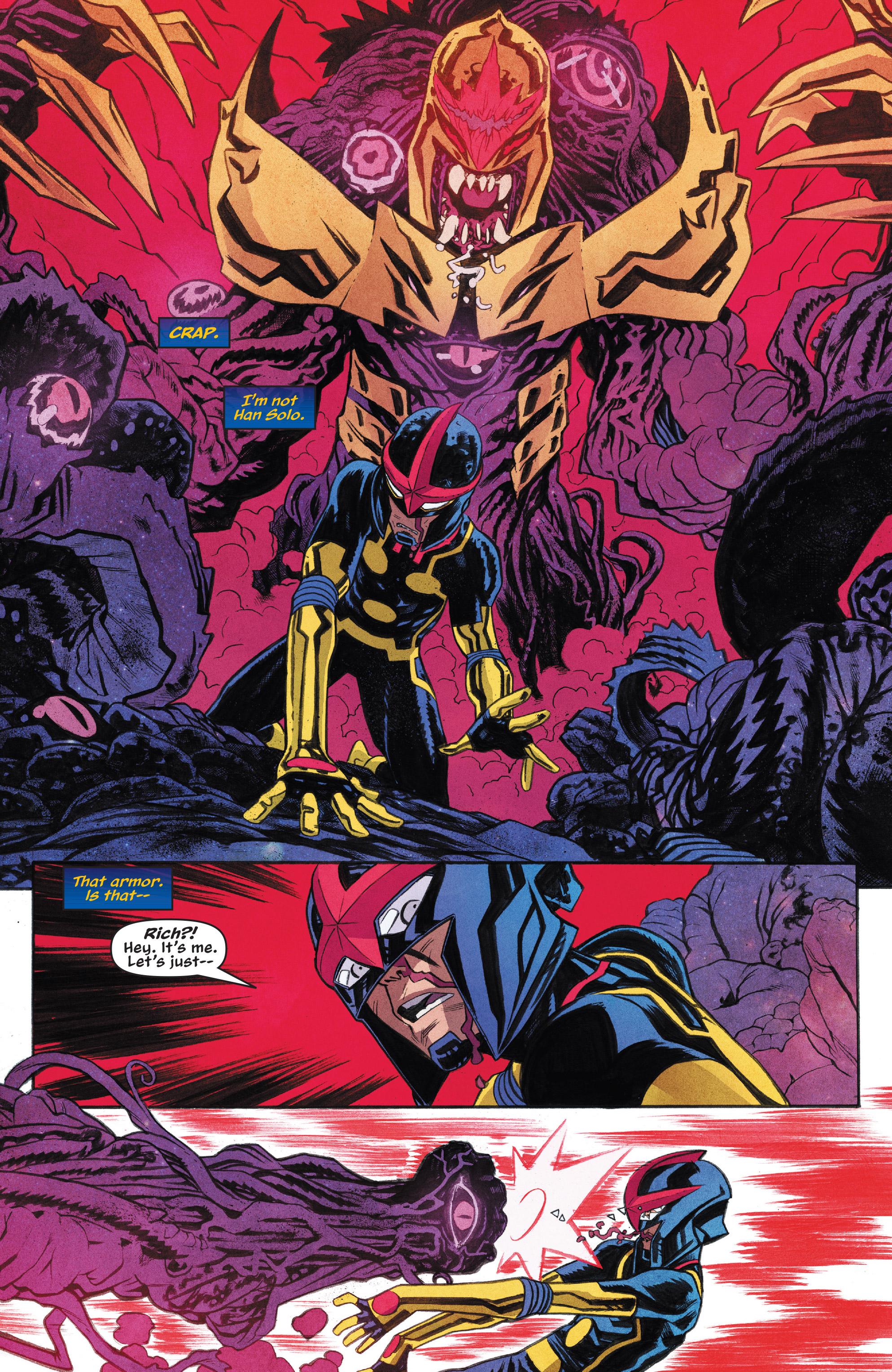 Read online Nova (2017) comic -  Issue #7 - 4