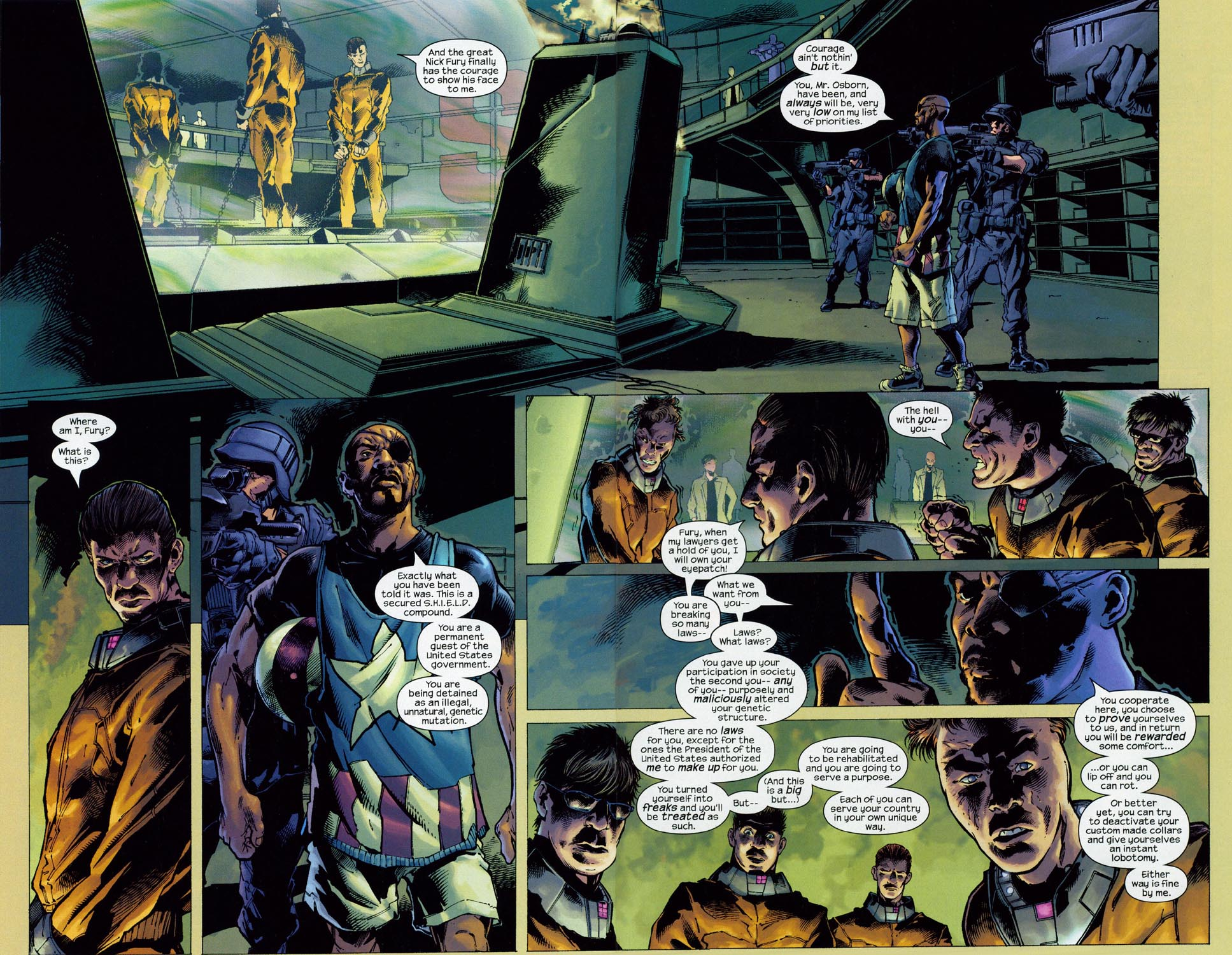 Read online Ultimate Six comic -  Issue #1 - 14