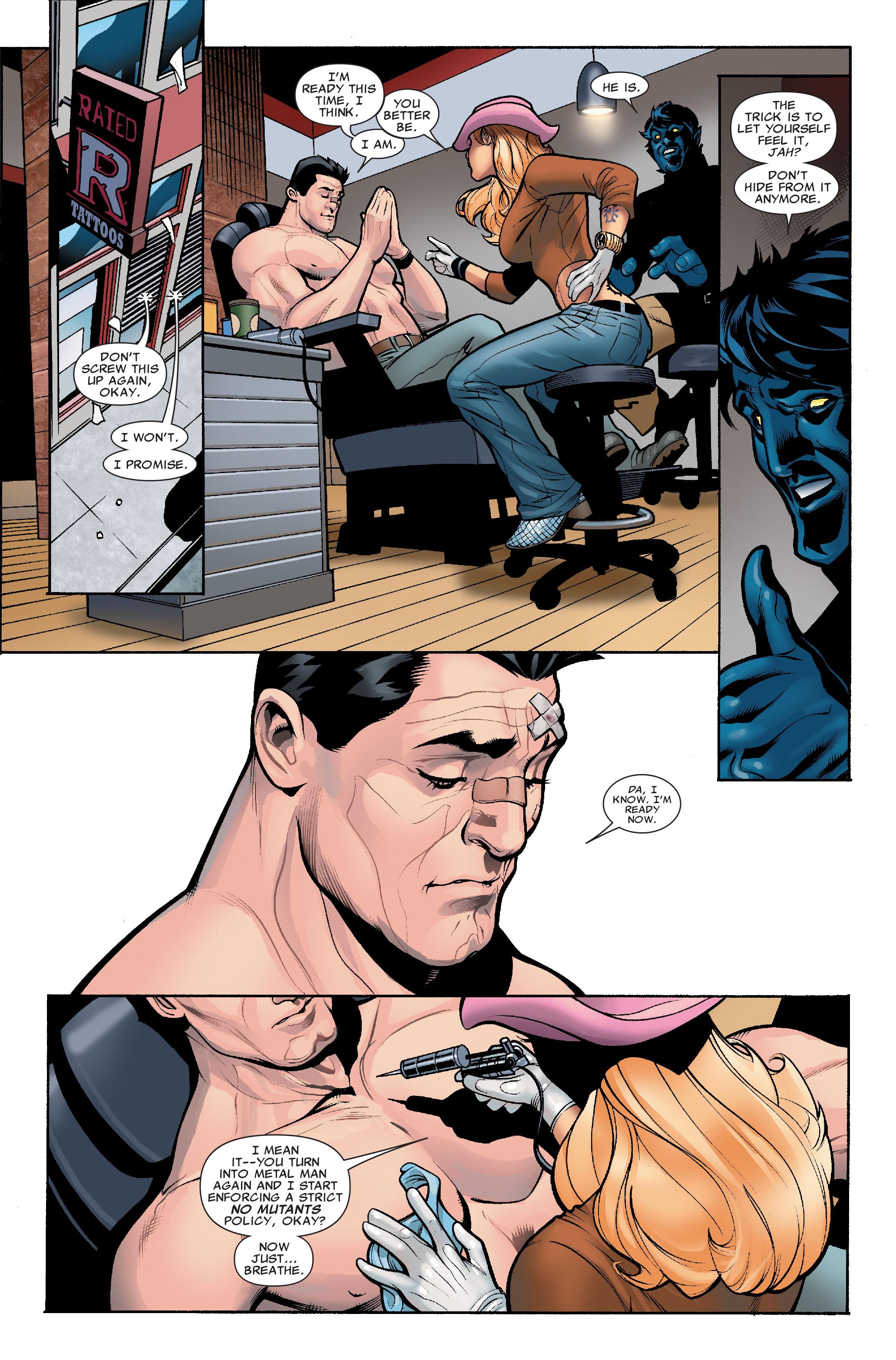 Read online Uncanny X-Men (1963) comic -  Issue #507 - 18