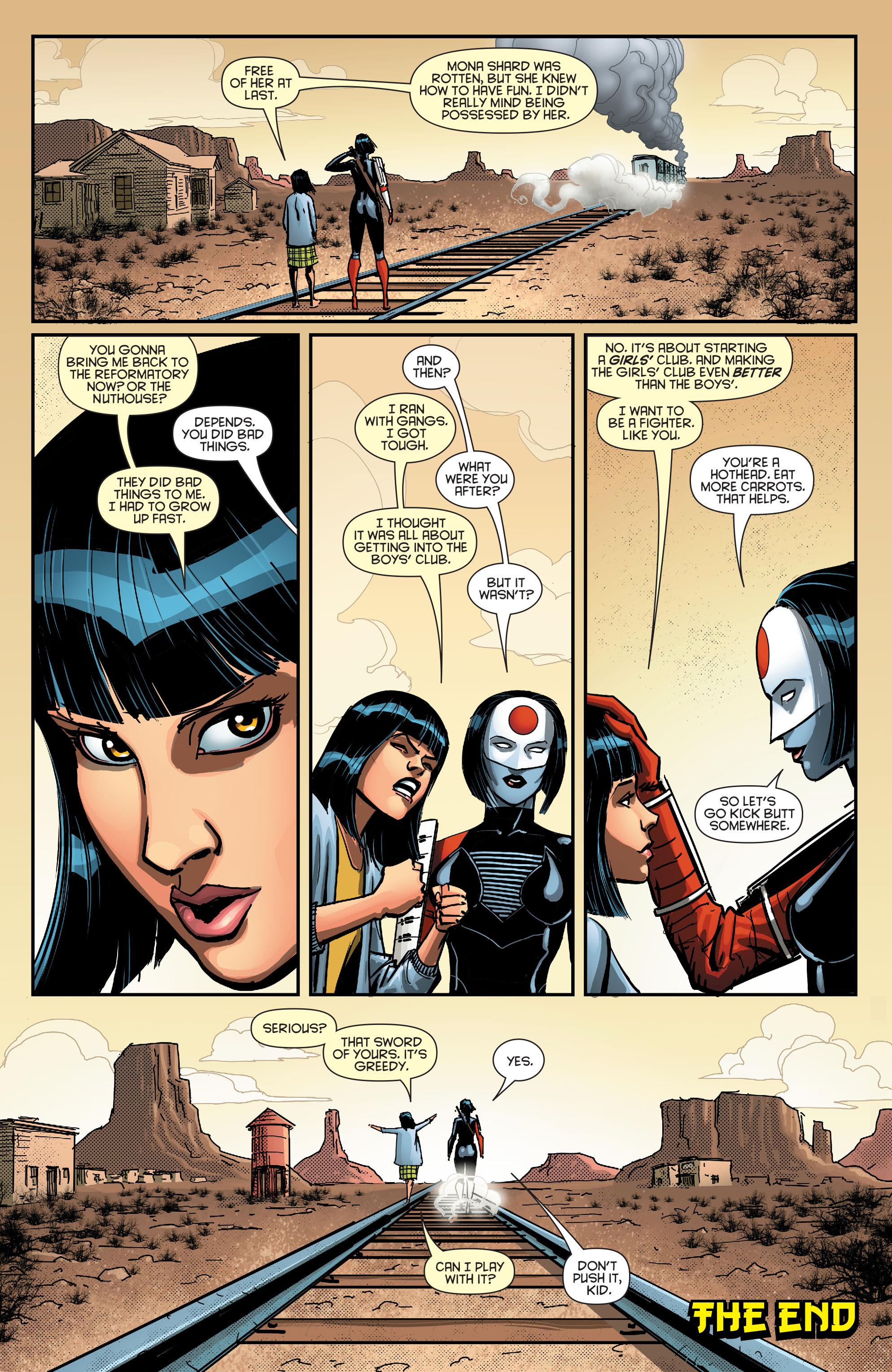 Read online Secret Origins (2014) comic -  Issue #8 - 31