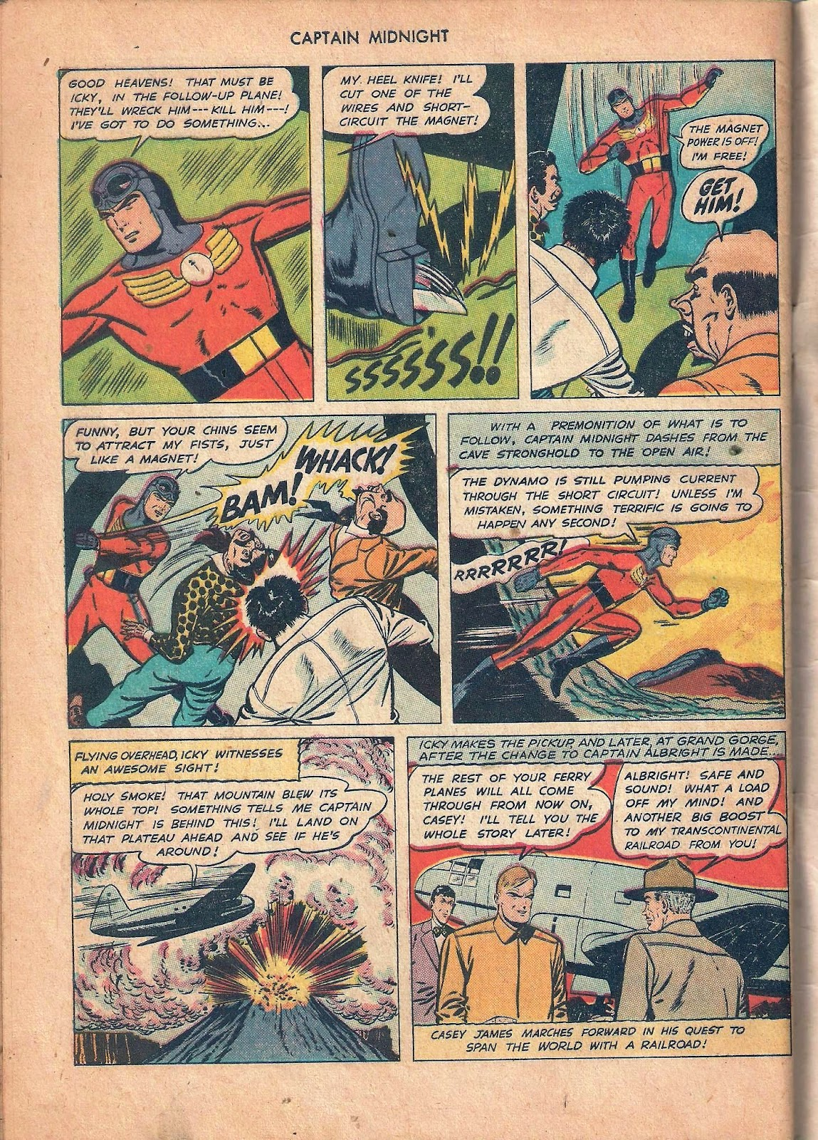 Captain Midnight (1942) issue 53 - Page 48