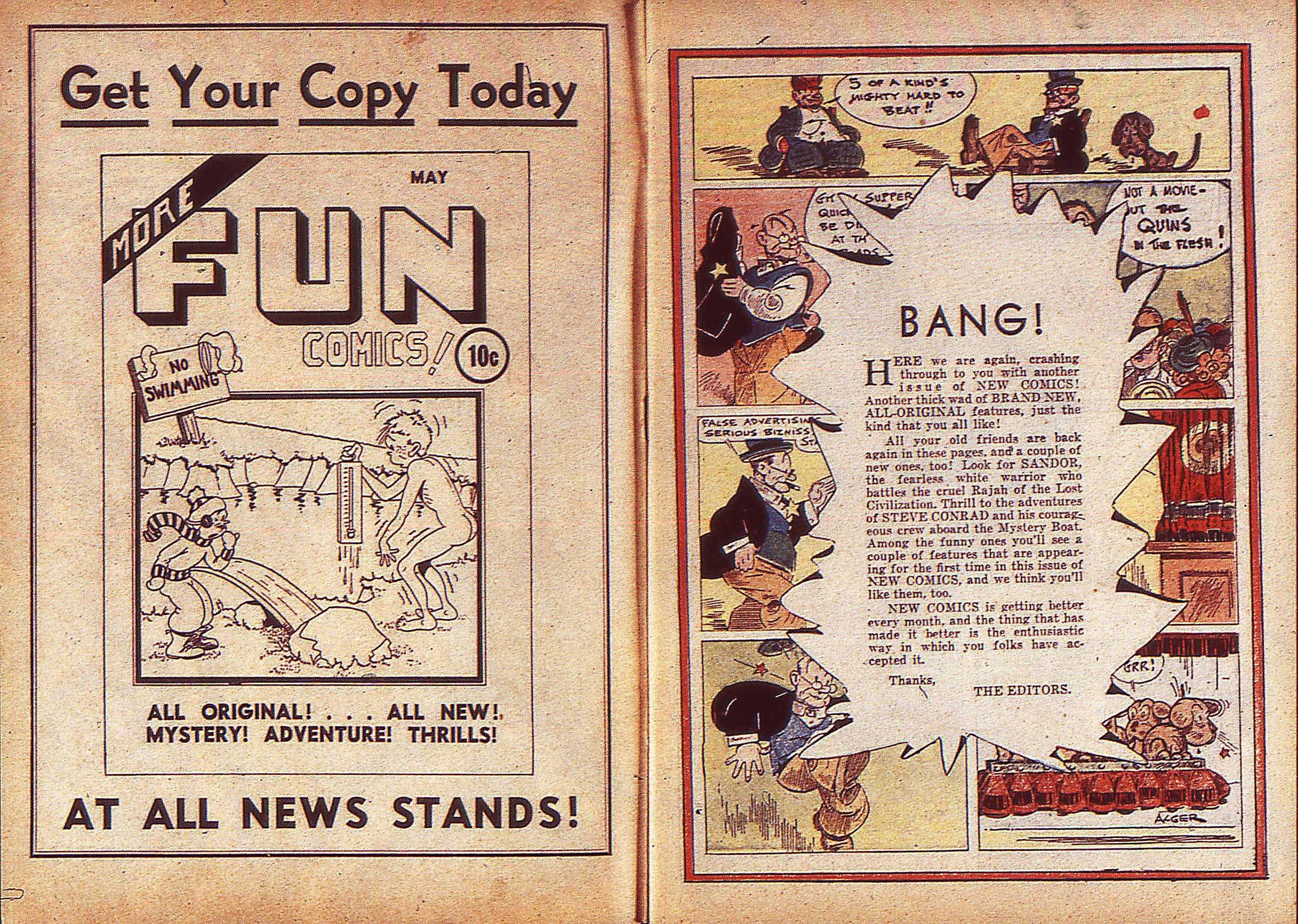 Read online Adventure Comics (1938) comic -  Issue #5 - 2