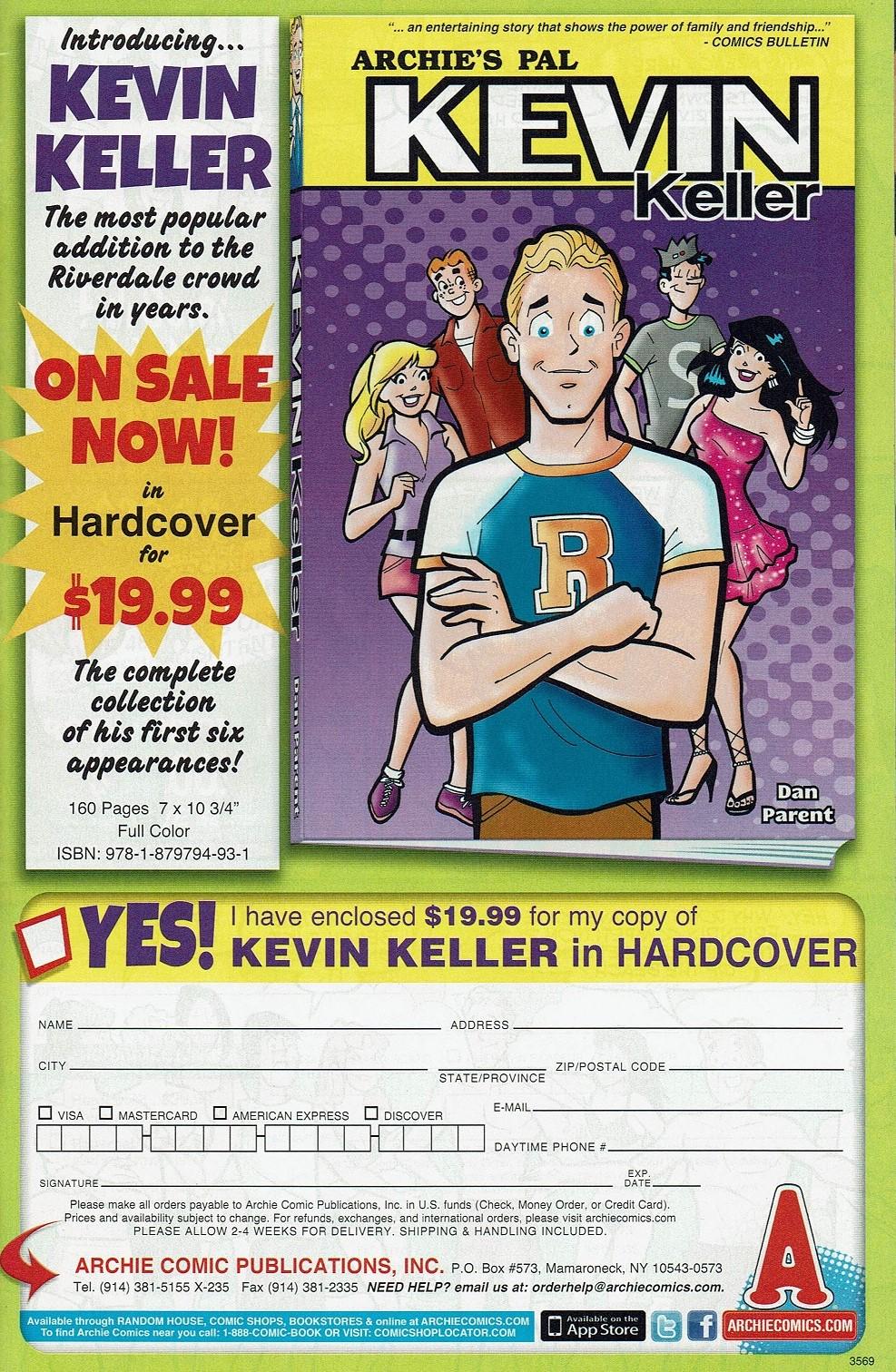 Read online Kevin Keller comic -  Issue #3 - 10