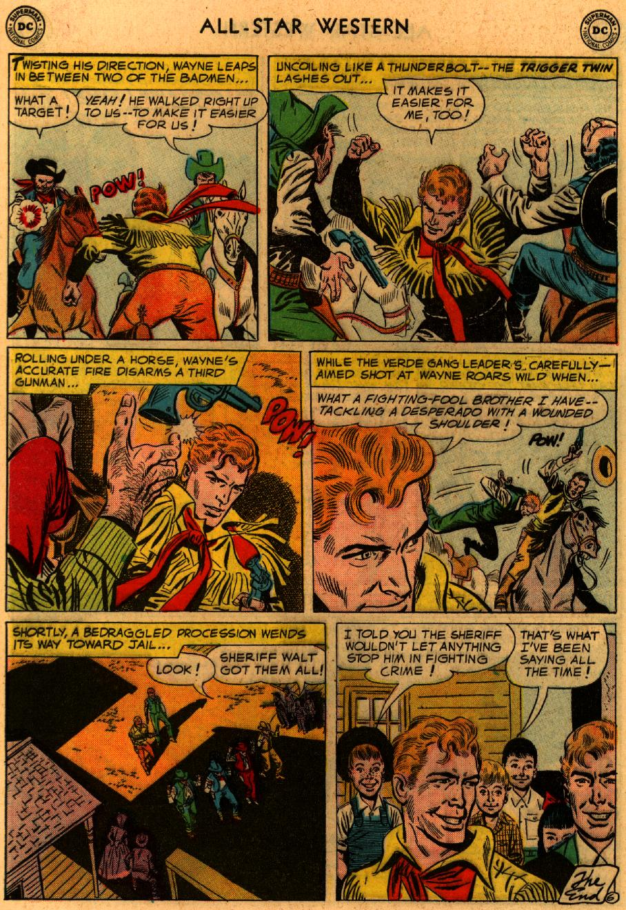 Read online All-Star Western (1951) comic -  Issue #94 - 8