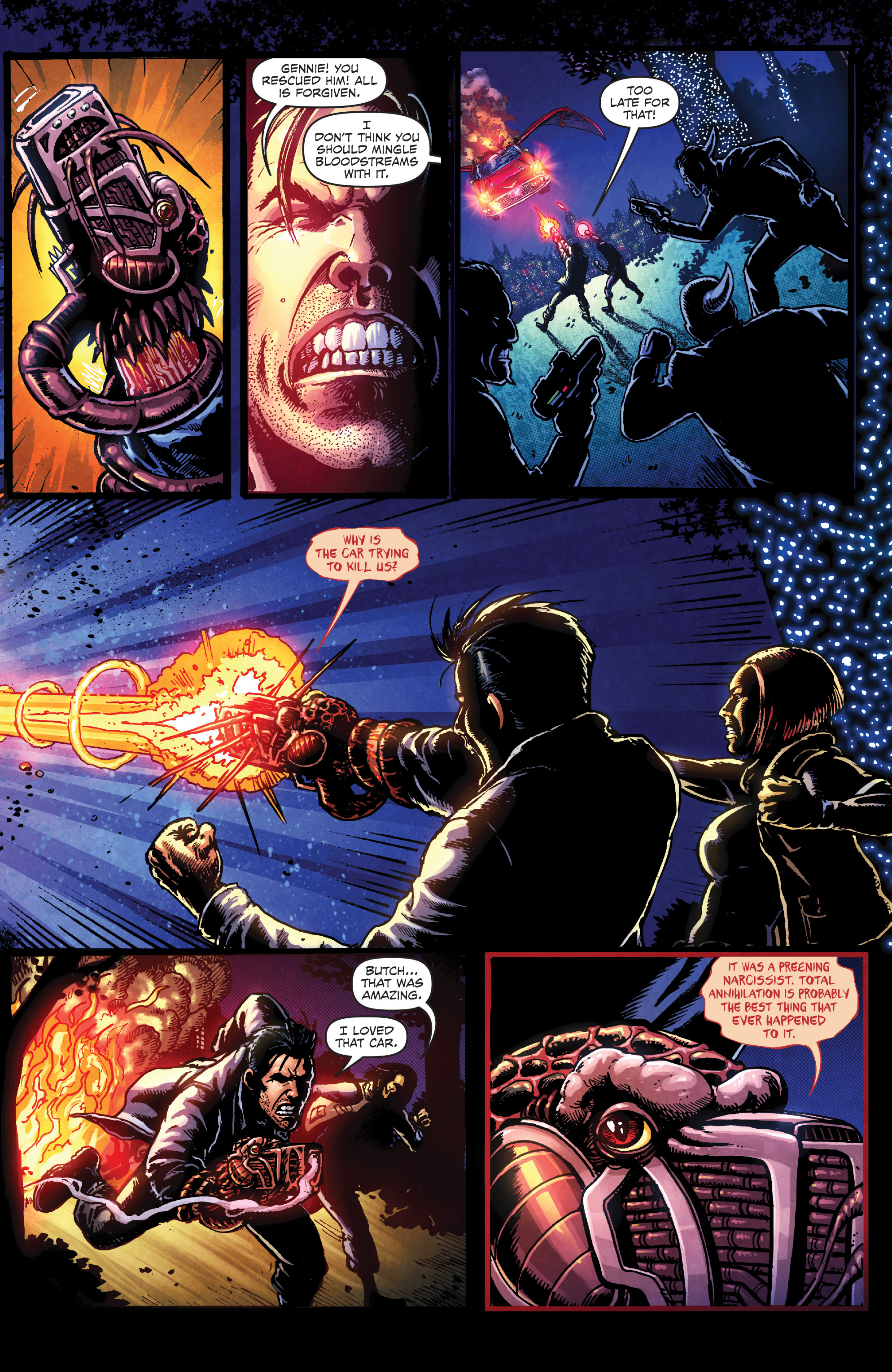 Read online Ballistic (2013) comic -  Issue #3 - 5