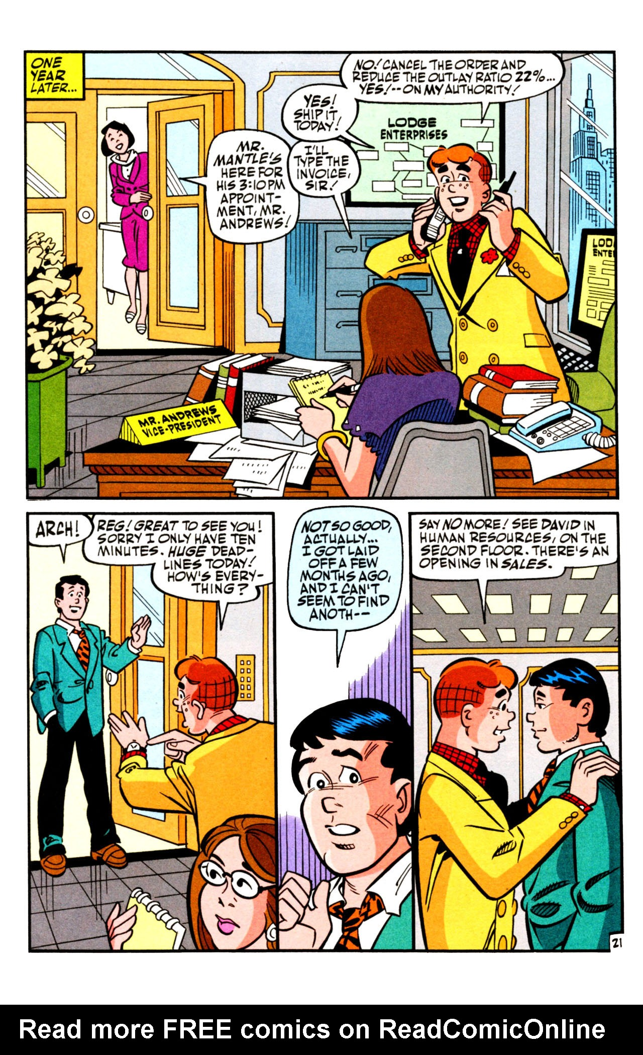 Read online Archie (1960) comic -  Issue #601 - 29