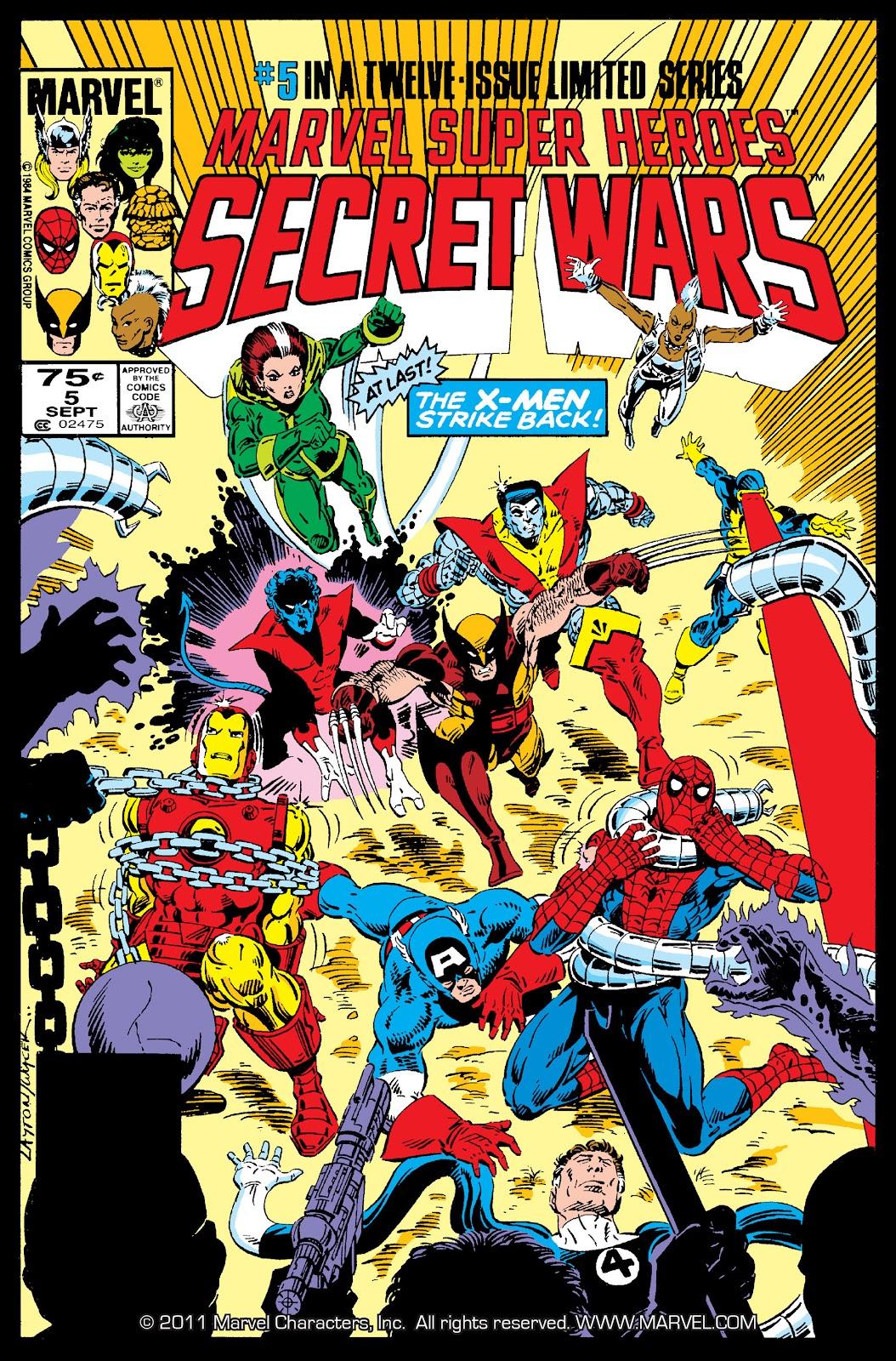Marvel Super Heroes Secret Wars (1984) 5 Page 1