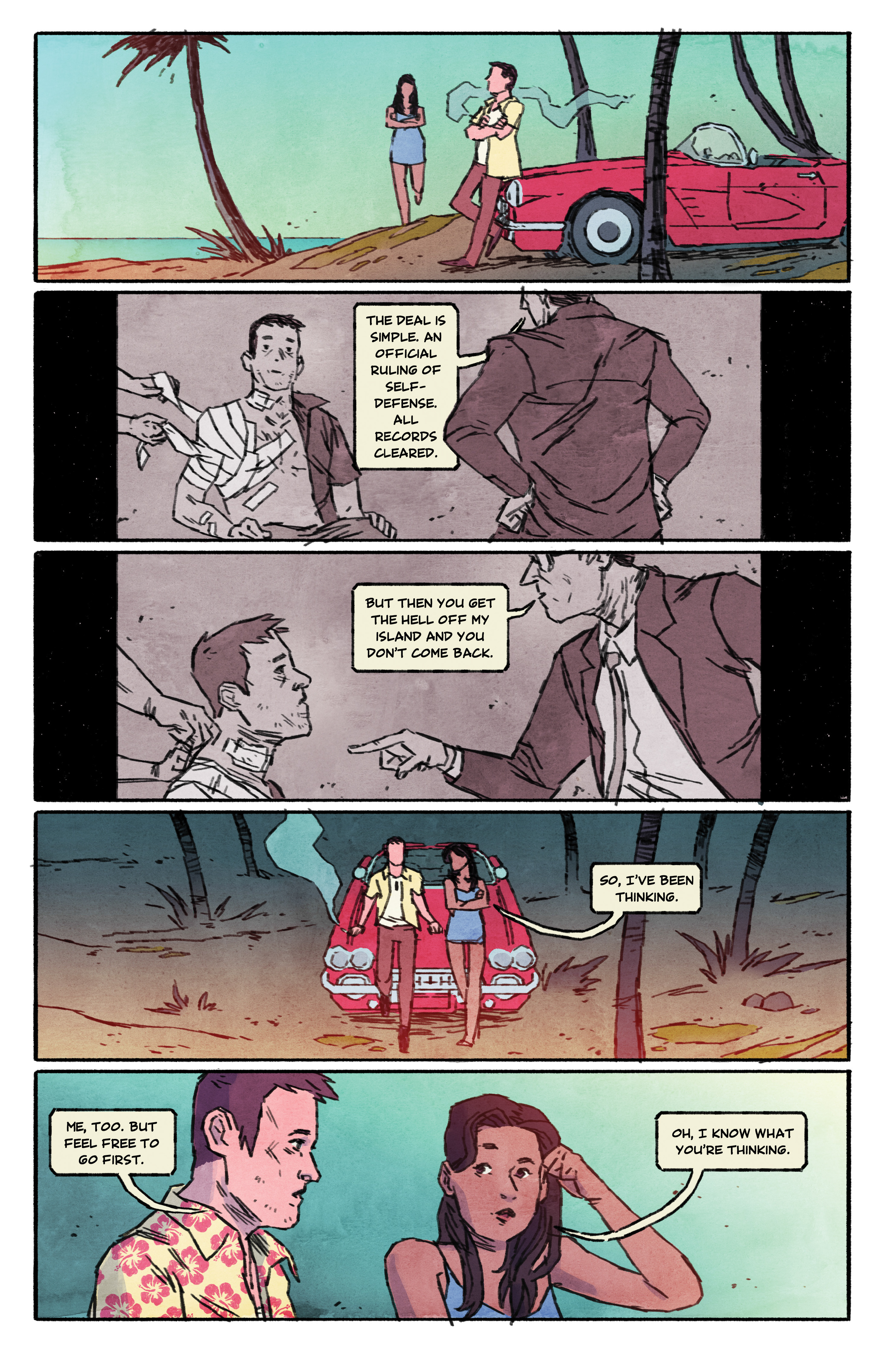 Read online Aloha, Hawaiian Dick comic -  Issue #5 - 20