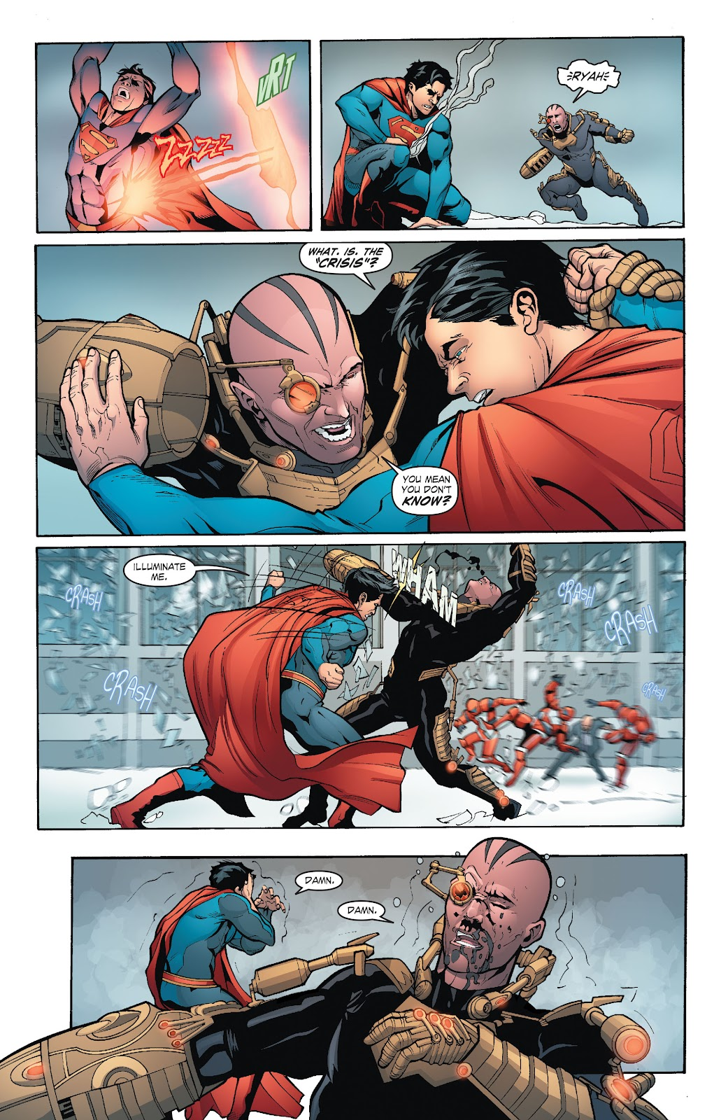 Read online Smallville Season 11 [II] comic -  Issue # TPB 6 - 109