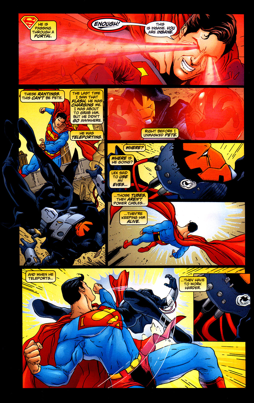 Read online Adventures of Superman (1987) comic -  Issue #645 - 20