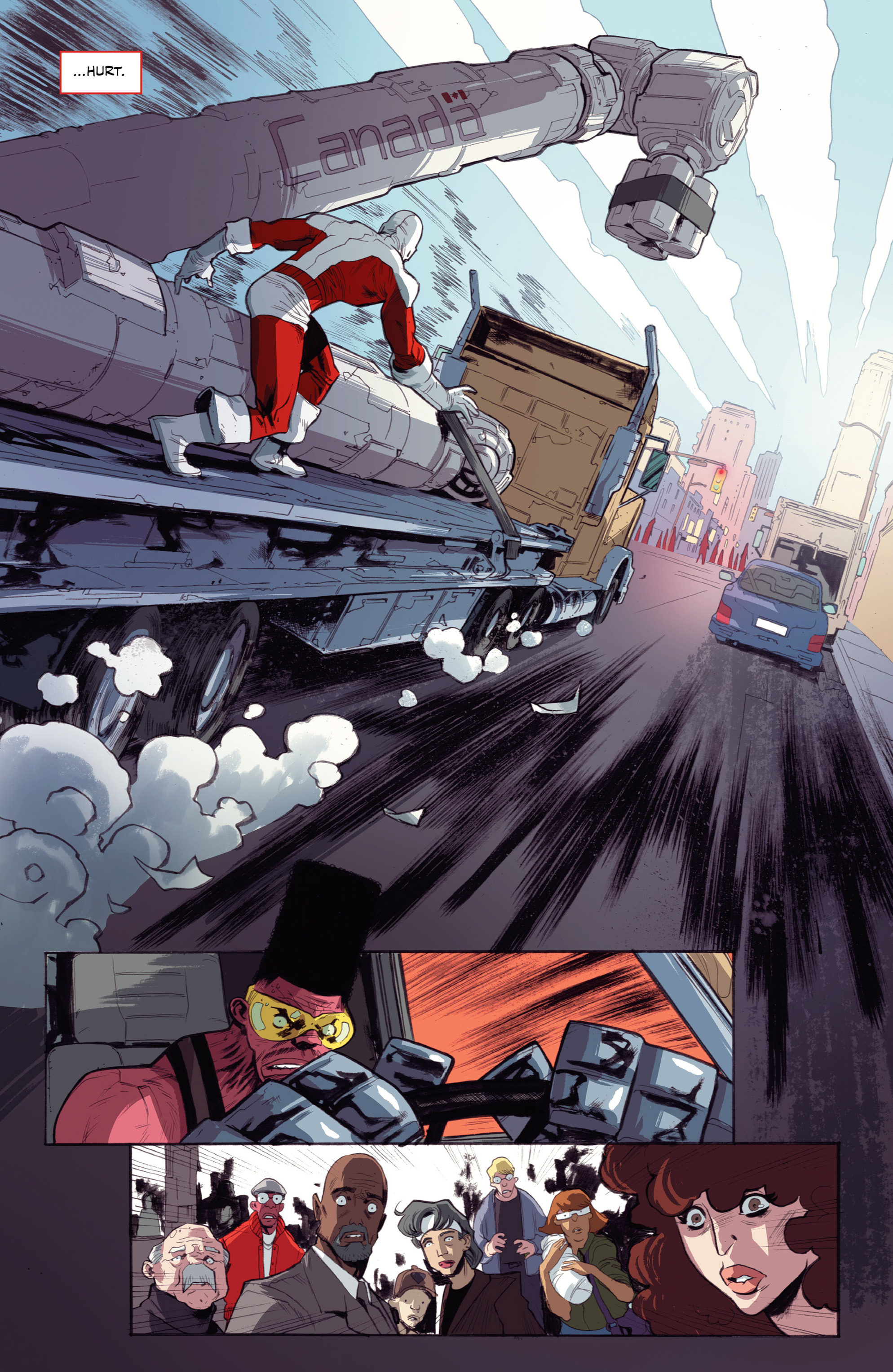 Read online All-New Classic Captain Canuck comic -  Issue #0 - 28
