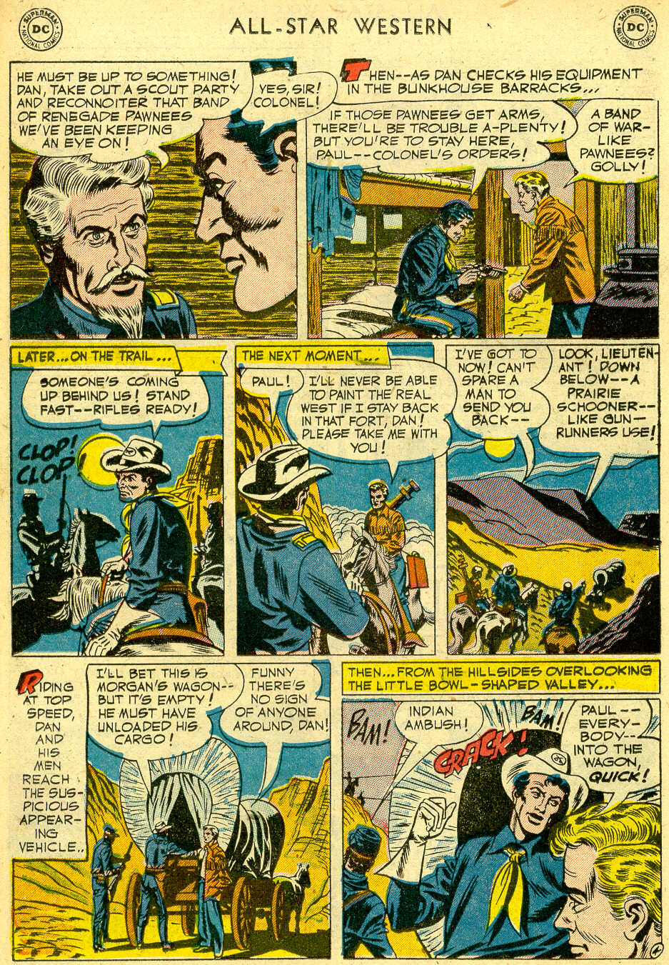 Read online All-Star Western (1951) comic -  Issue #68 - 22