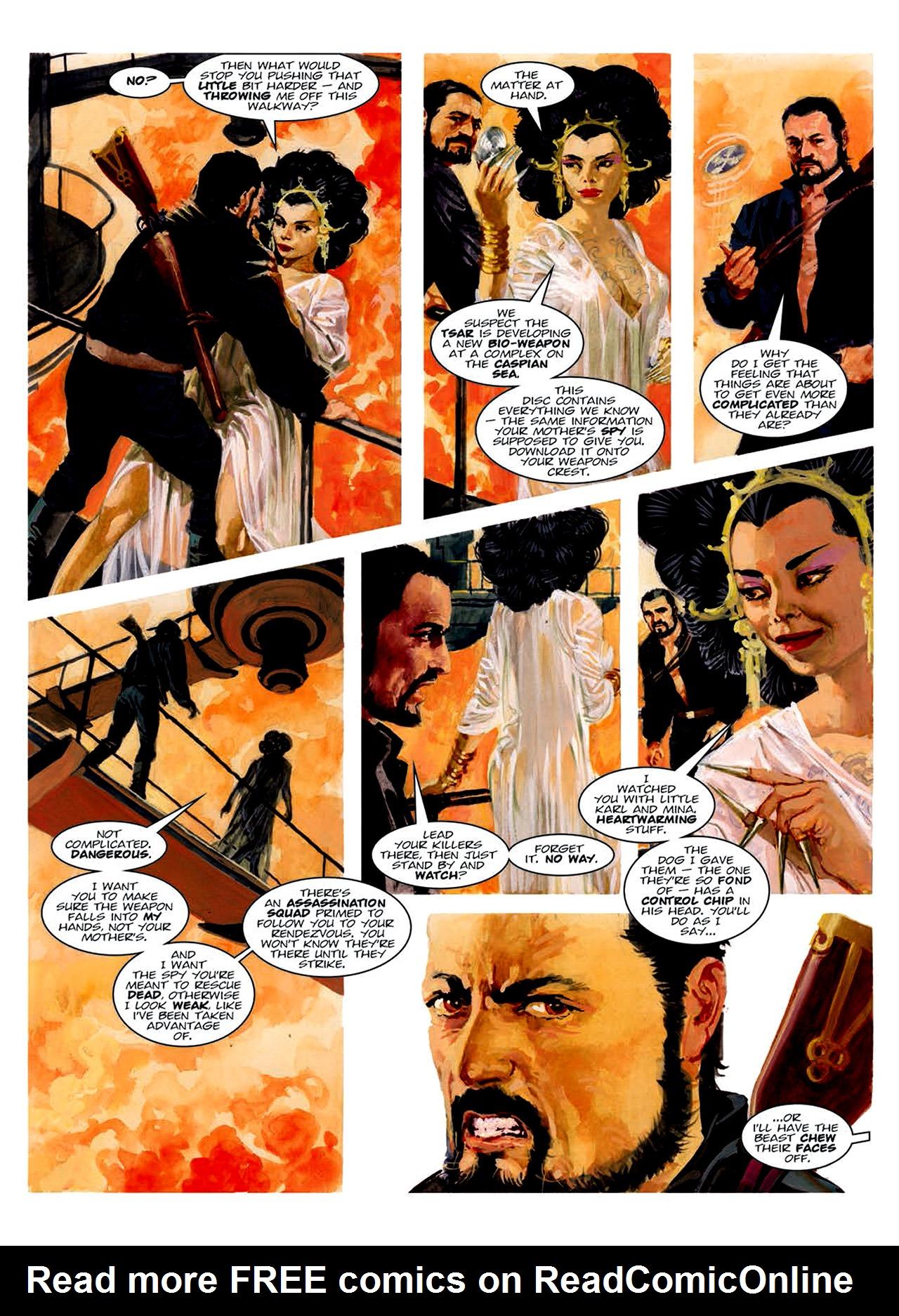 Read online Nikolai Dante comic -  Issue # TPB 6 - 160