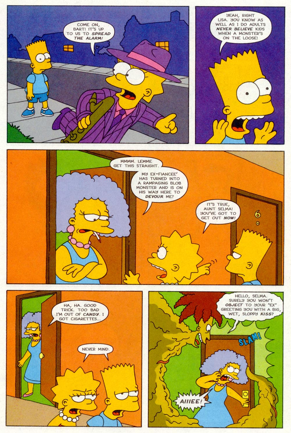 Read online Treehouse of Horror comic -  Issue #2 - 10