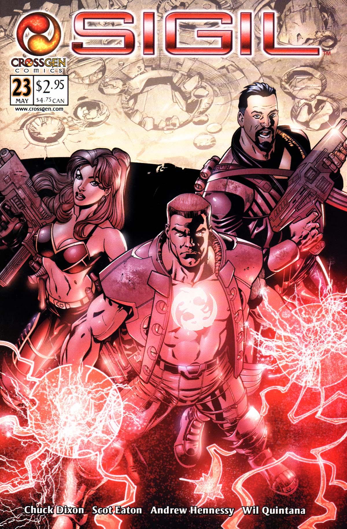 Read online Sigil (2000) comic -  Issue #23 - 1