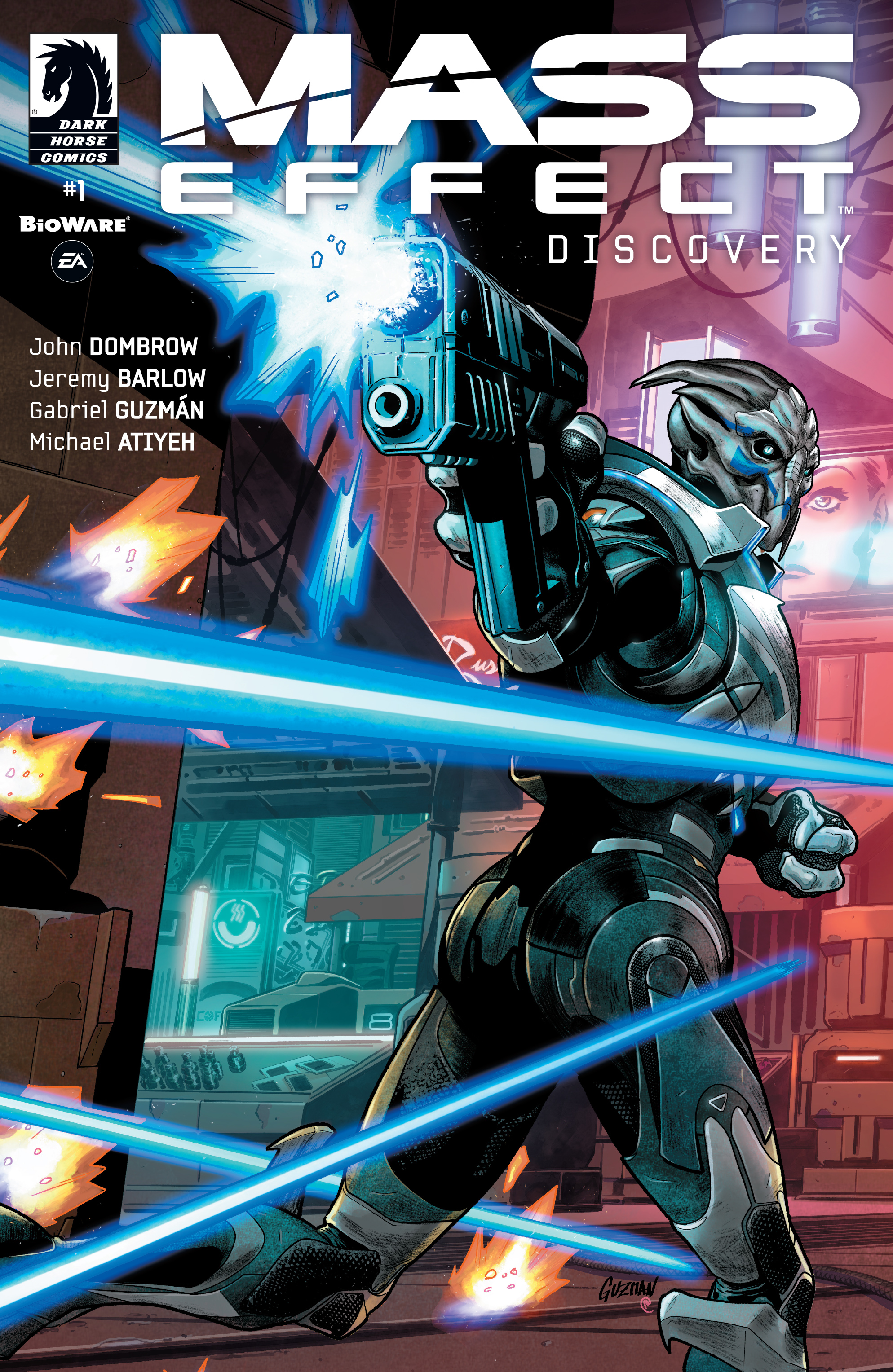 Read online Mass Effect: Discovery comic -  Issue #1 - 1