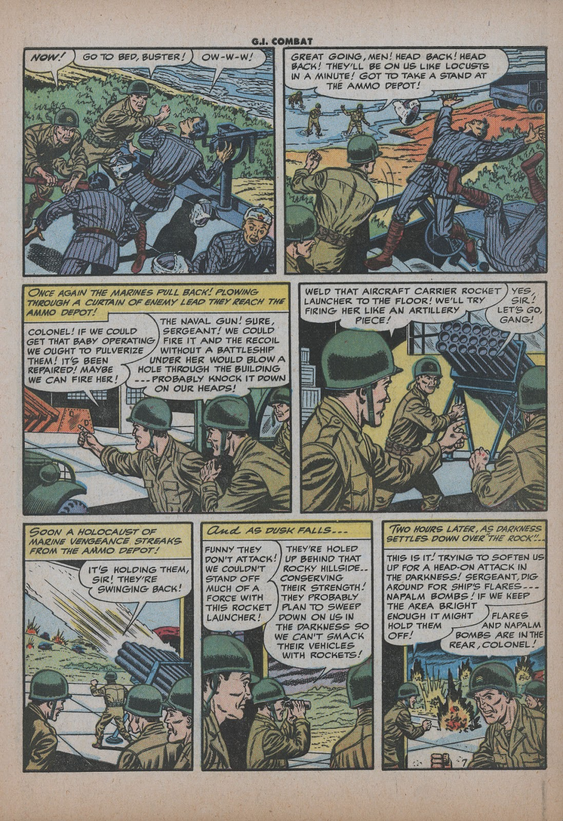 G.I. Combat (1952) issue 26 - Page 9