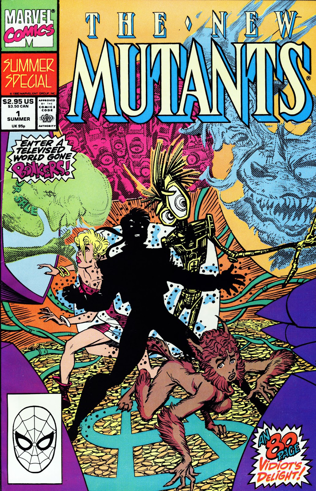 The New Mutants Summer Special issue Full - Page 1