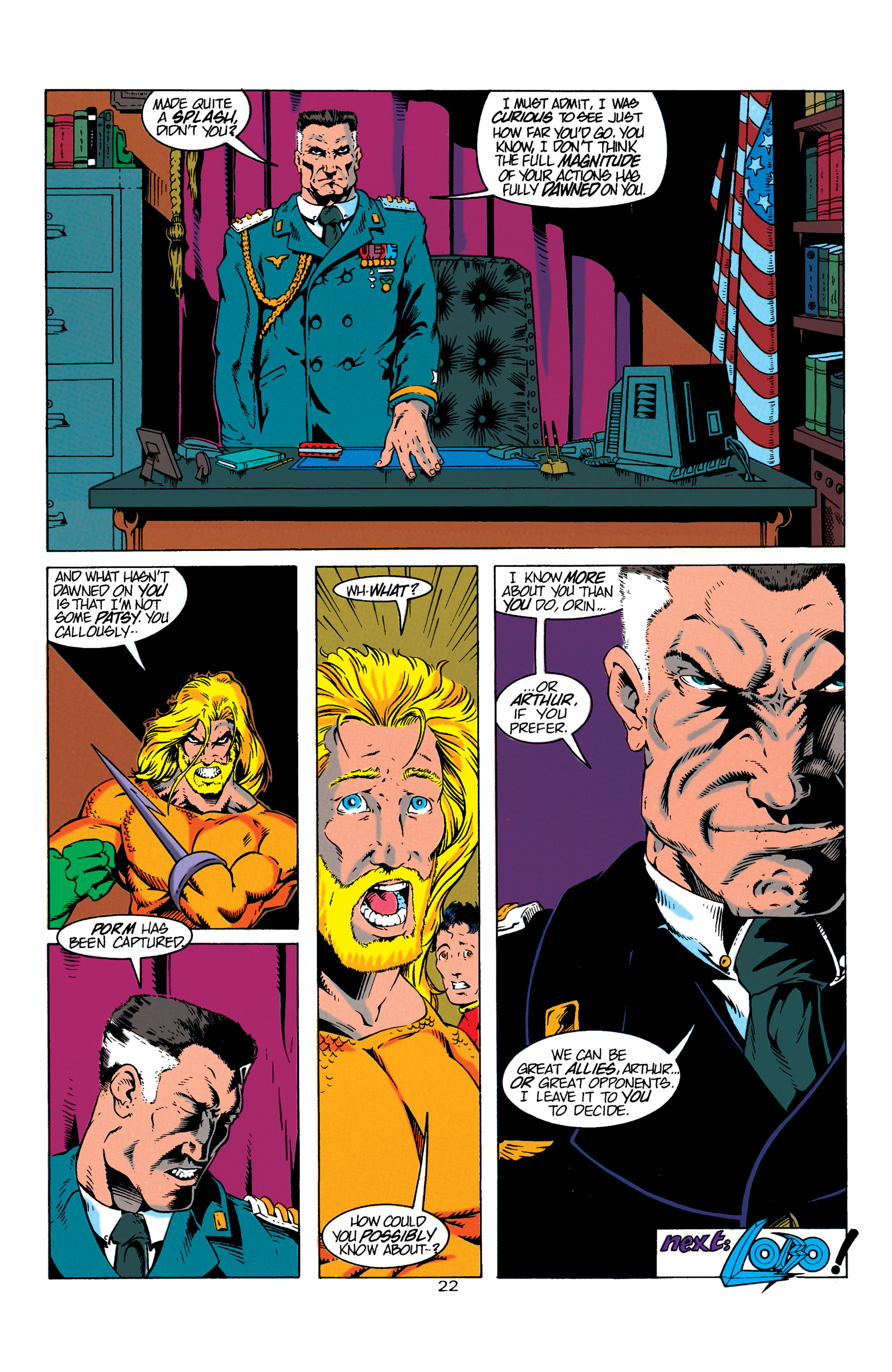 Read online Aquaman (1994) comic -  Issue #3 - 21