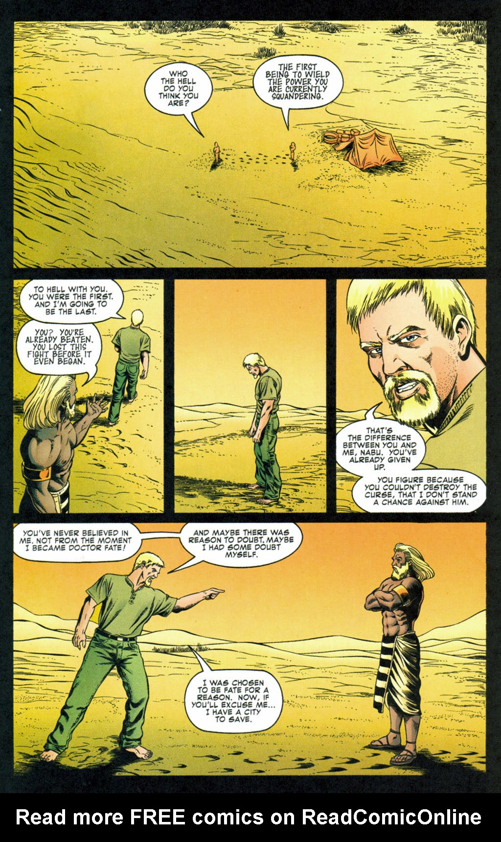 Read online Doctor Fate (2003) comic -  Issue #4 - 20