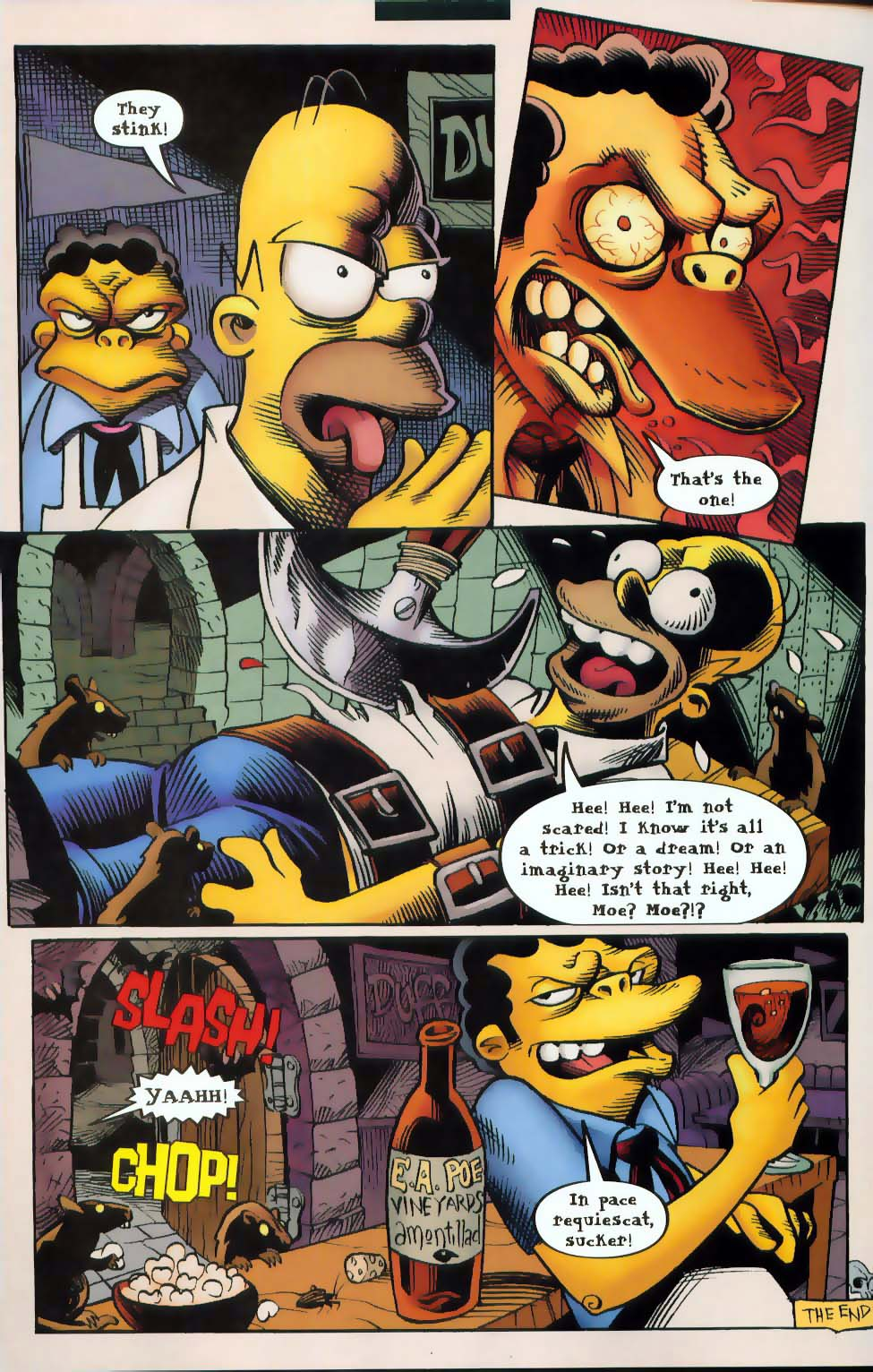 Read online Treehouse of Horror comic -  Issue #9 - 32