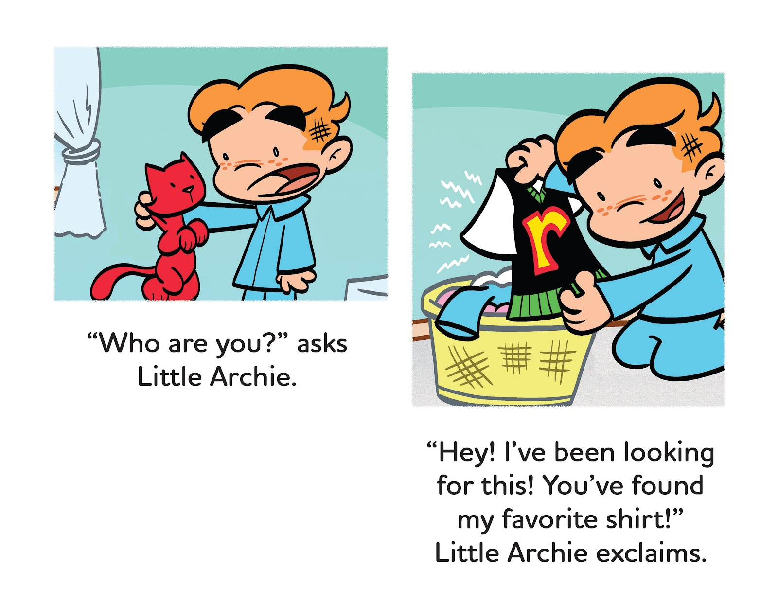 Read online Little Archie's Lucky Day comic -  Issue # Full - 10