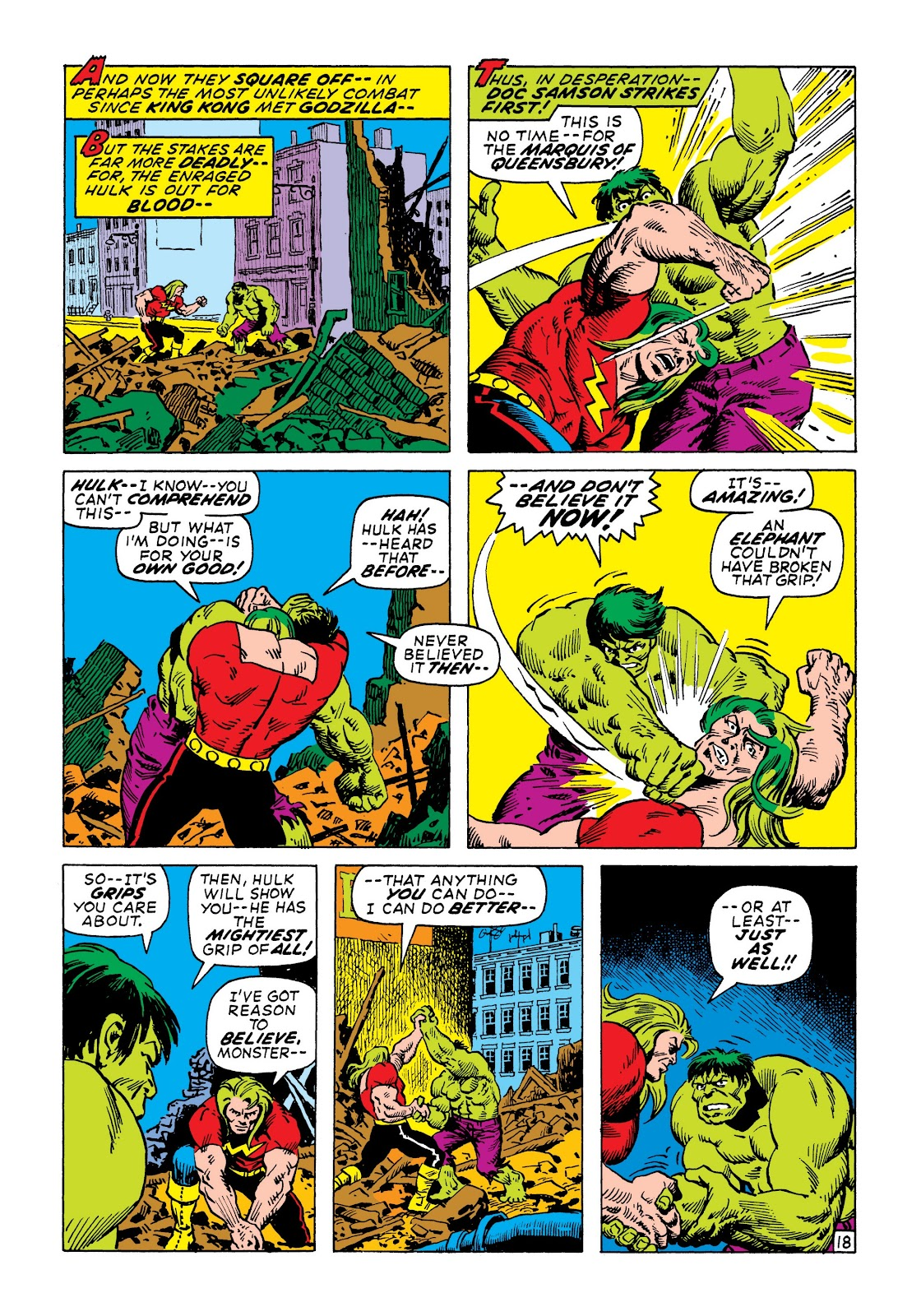 Read online Marvel Masterworks: The Incredible Hulk comic -  Issue # TPB 7 (Part 2) - 64