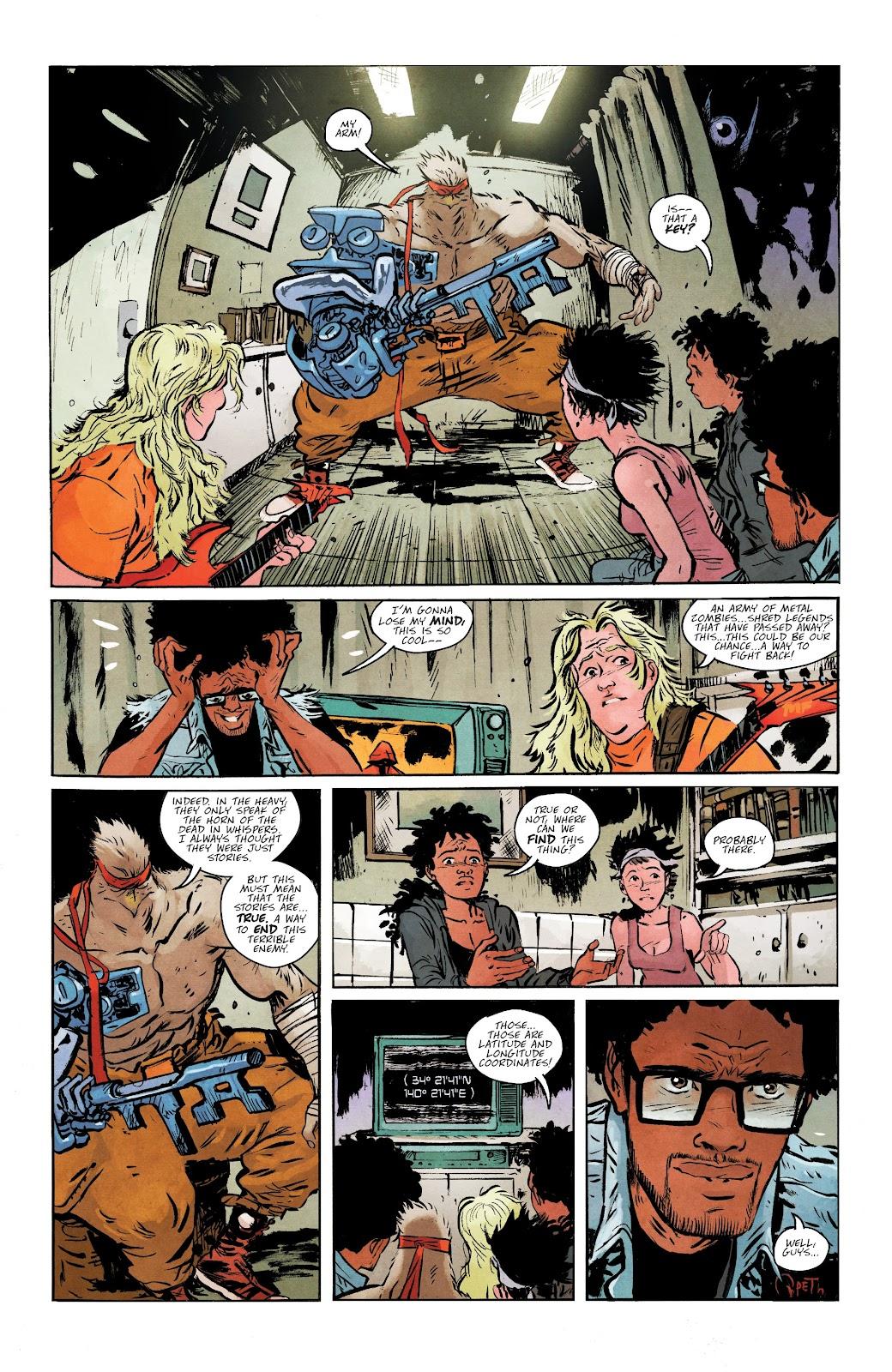Read online Murder Falcon comic -  Issue #5 - 24