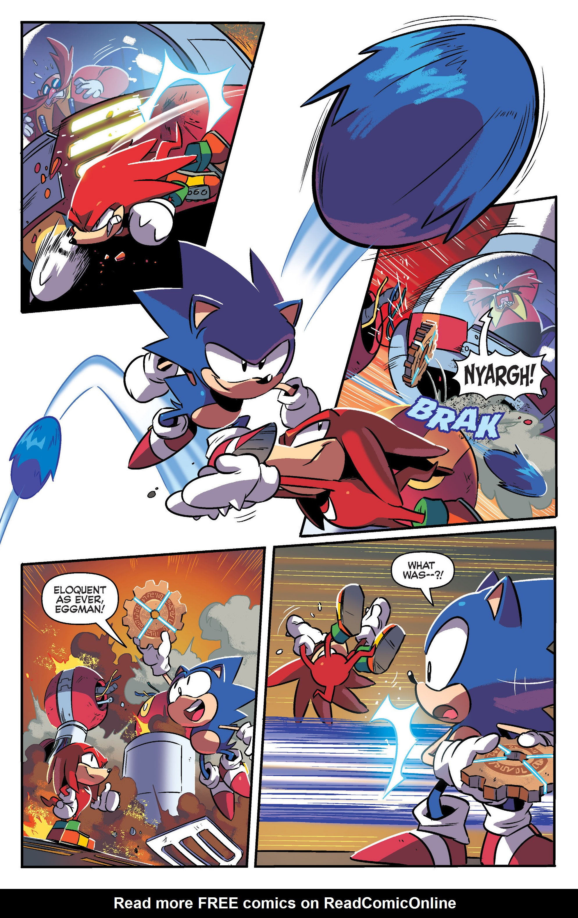 Read online Sonic: Mega Drive - The Next Level comic -  Issue # Full - 21