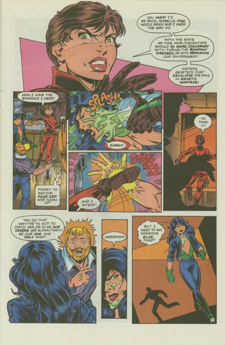 Read online Ex-Mutants comic -  Issue #8 - 13