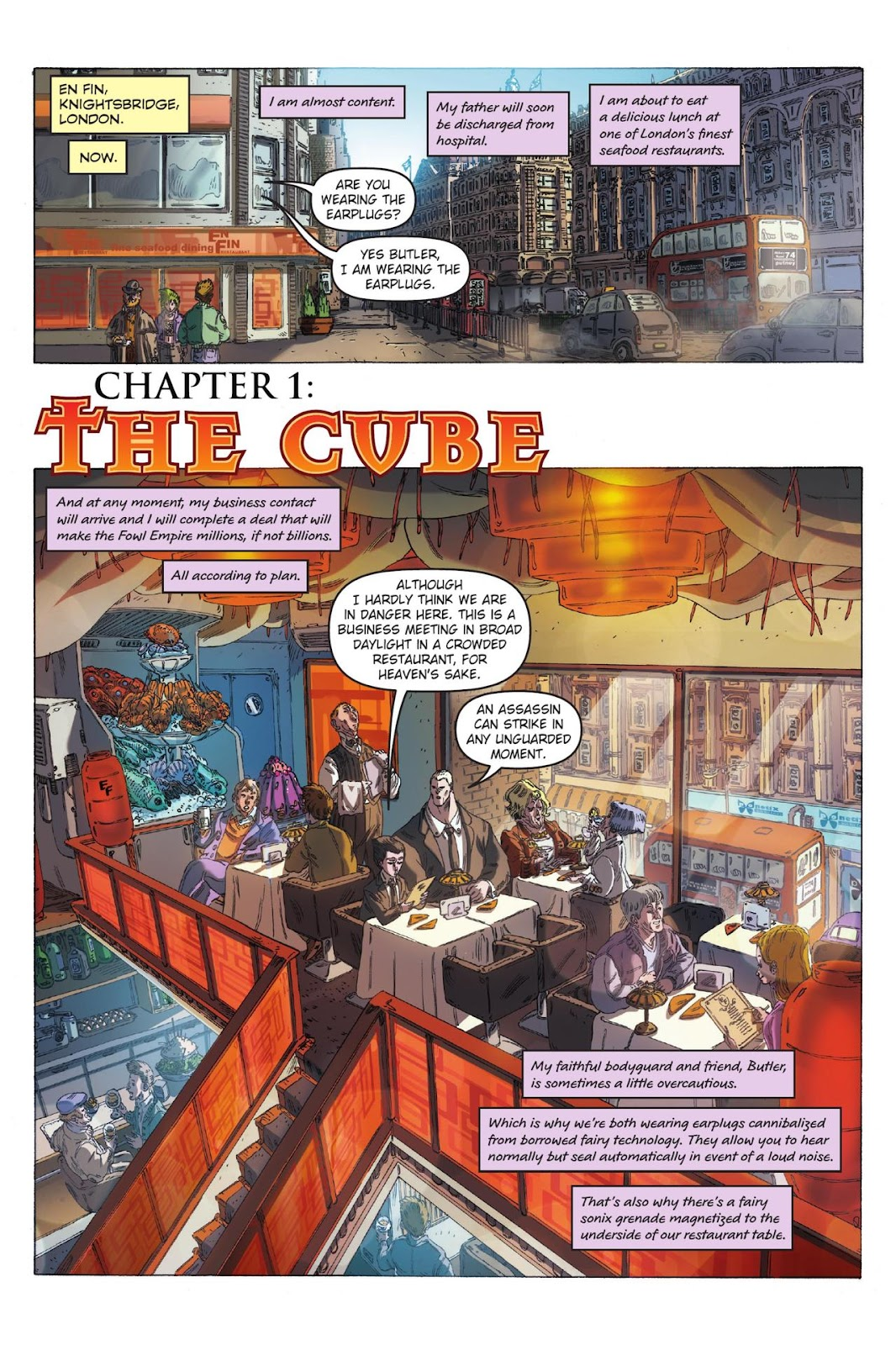 Artemis Fowl: The Eternity Code issue TPB - Page 8