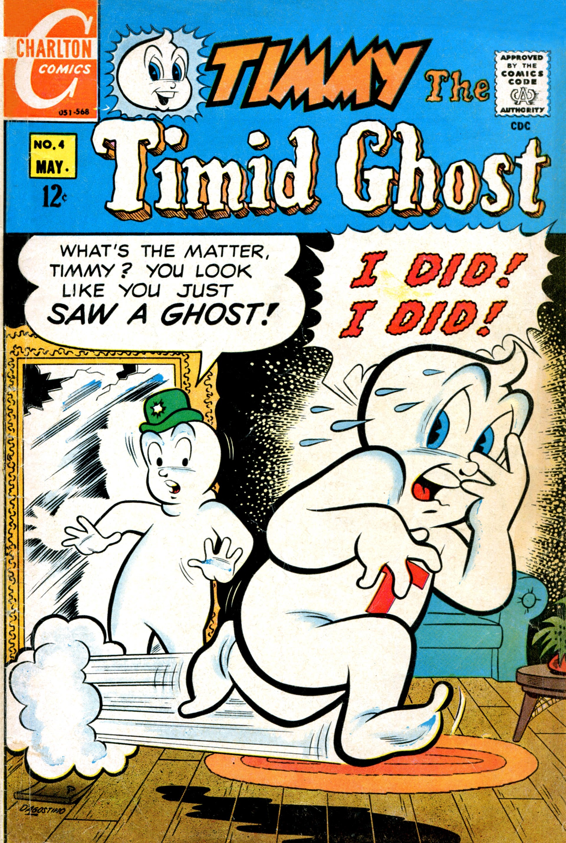 Timmy the Timid Ghost 4 Page 1