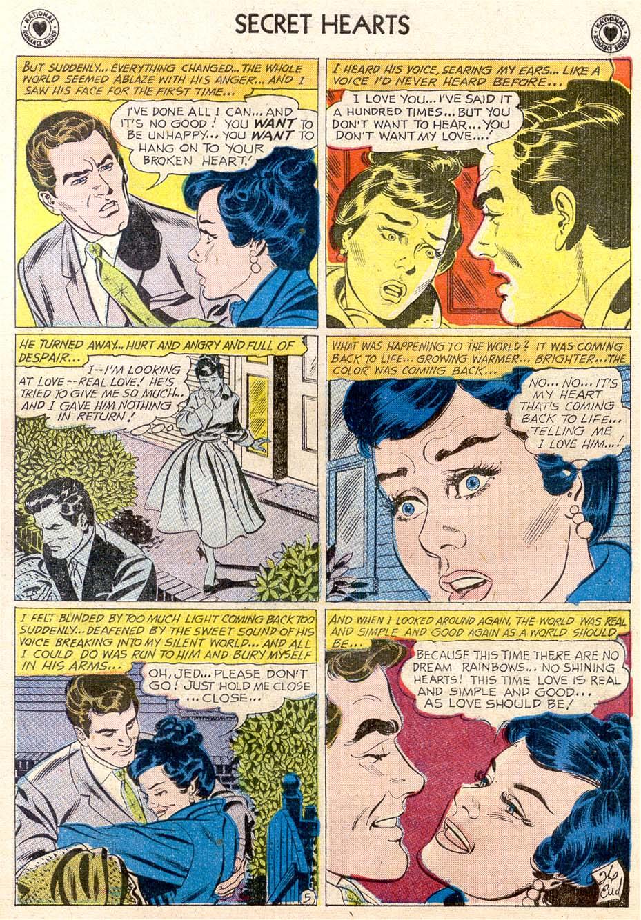 Read online Secret Hearts comic -  Issue #65 - 7