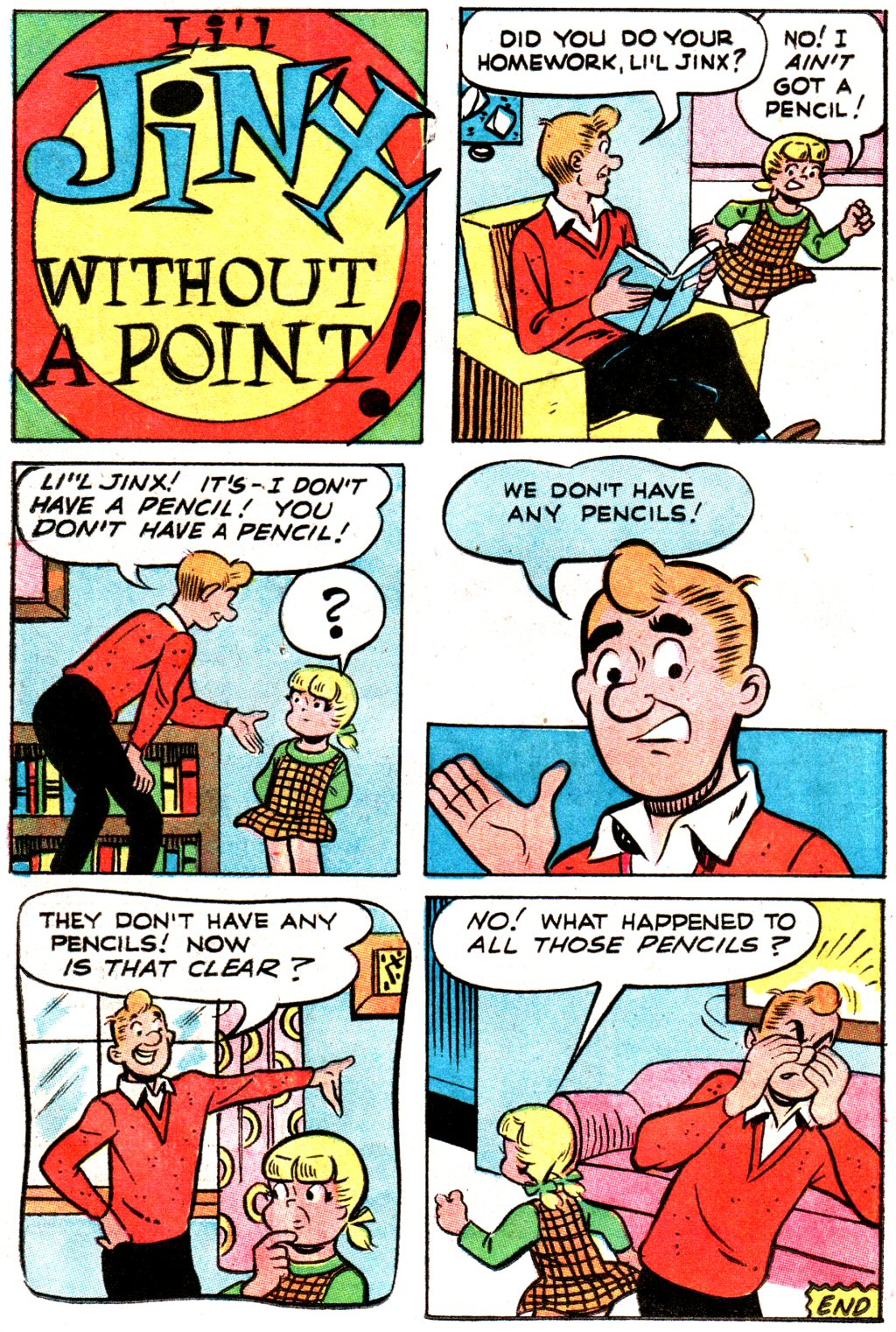Read online Archie (1960) comic -  Issue #192 - 22