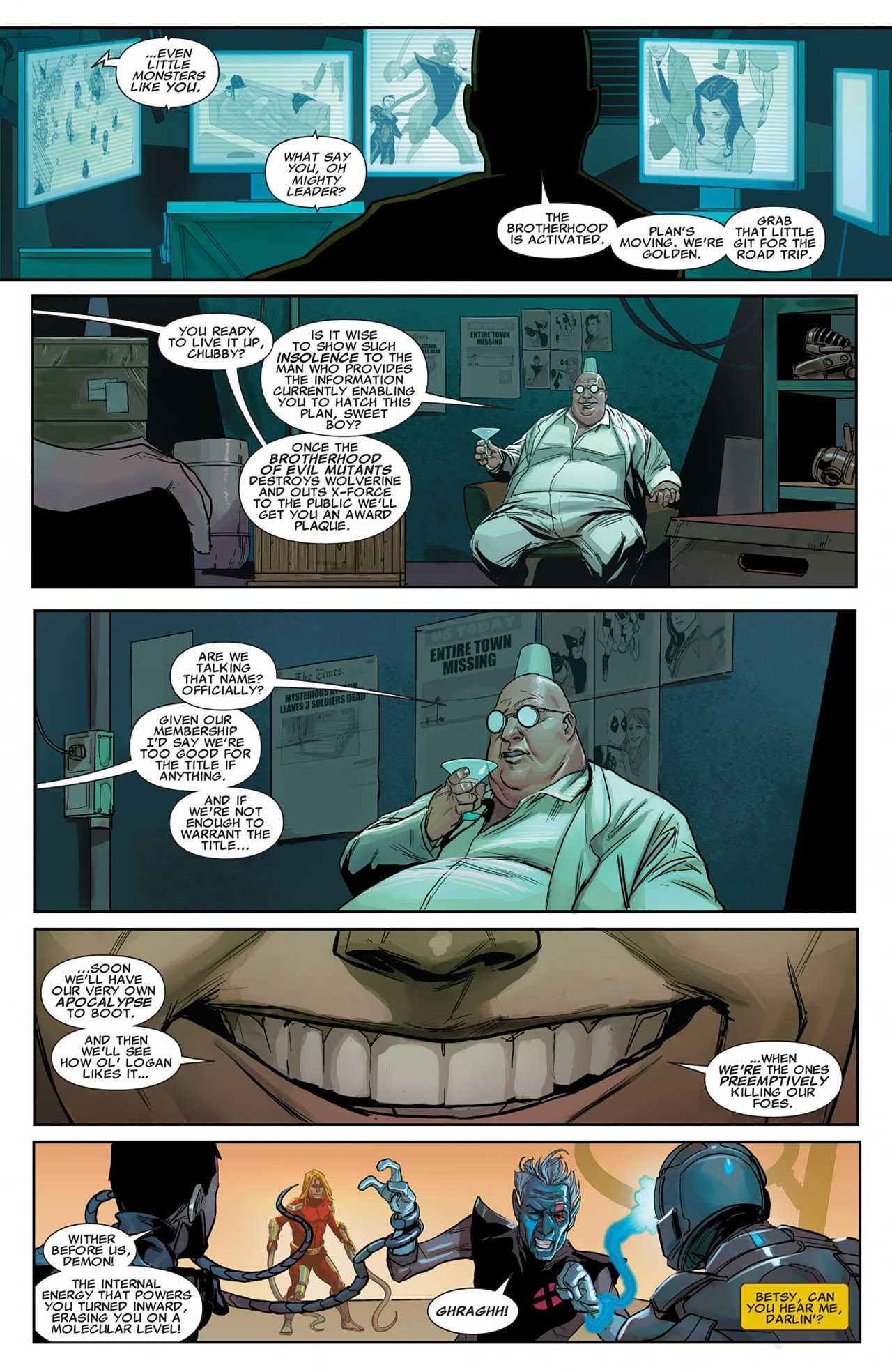 Uncanny X-Force (2010) #26 #28 - English 13