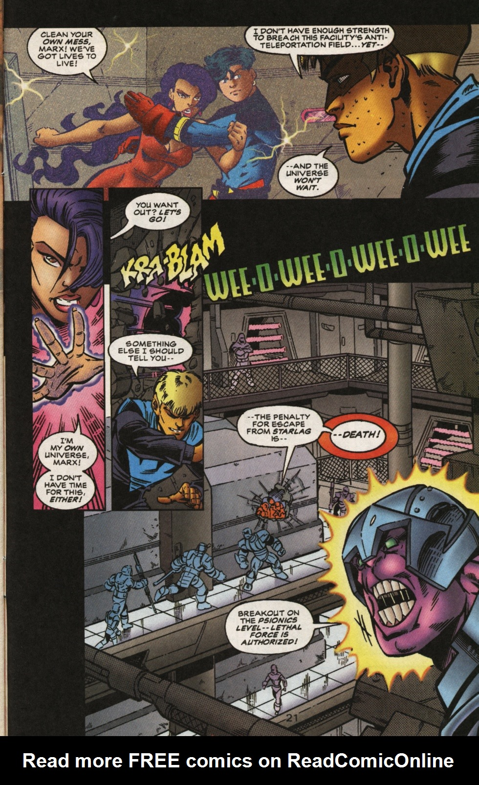 Read online Superboy & The Ravers comic -  Issue #13 - 22