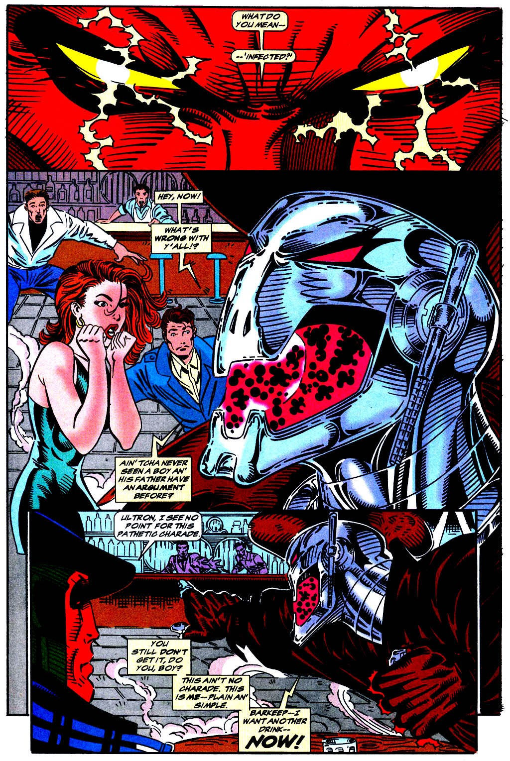 Read online The Vision comic -  Issue #1 - 17