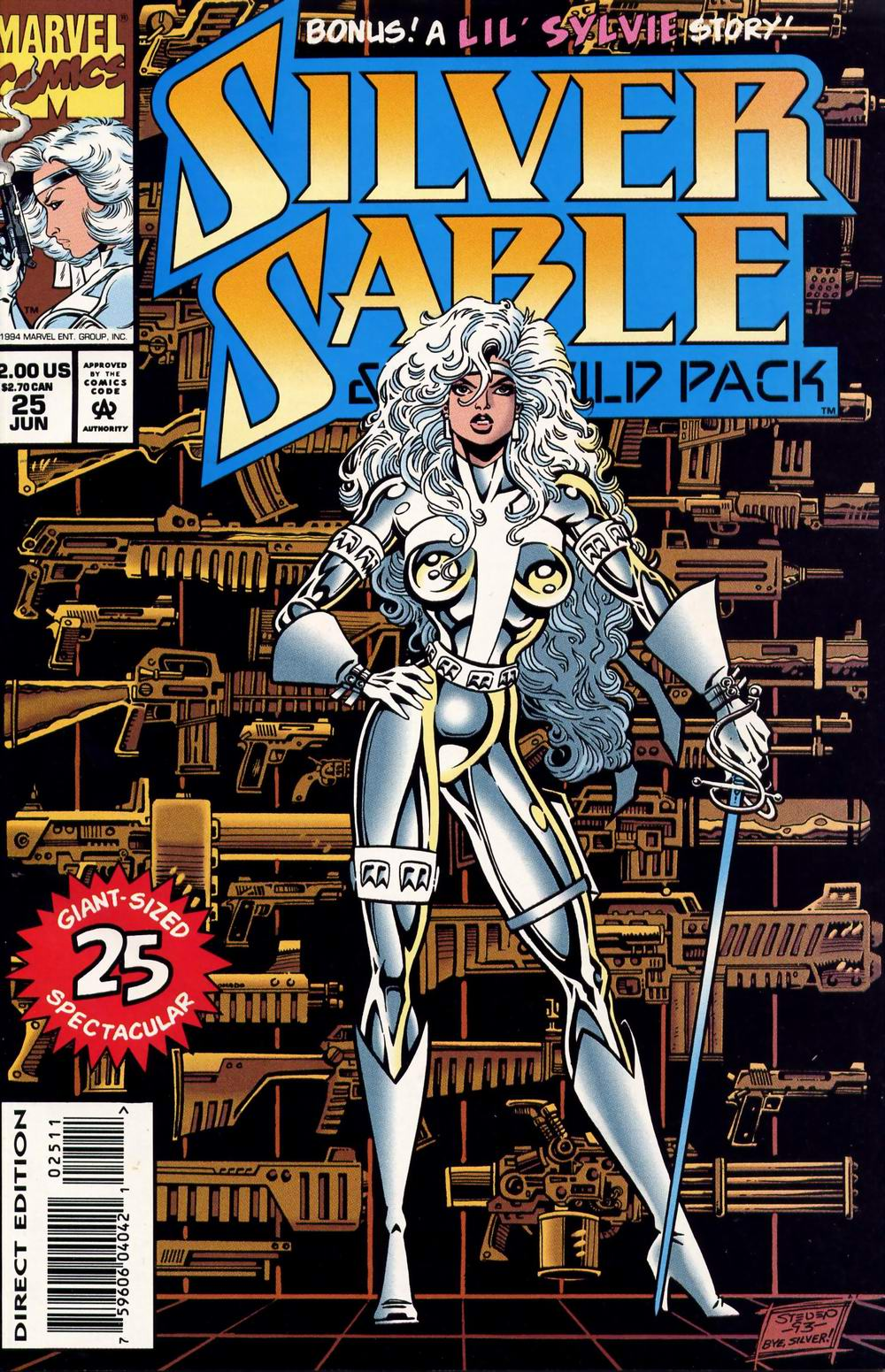 Read online Silver Sable and the Wild Pack comic -  Issue #25 - 1