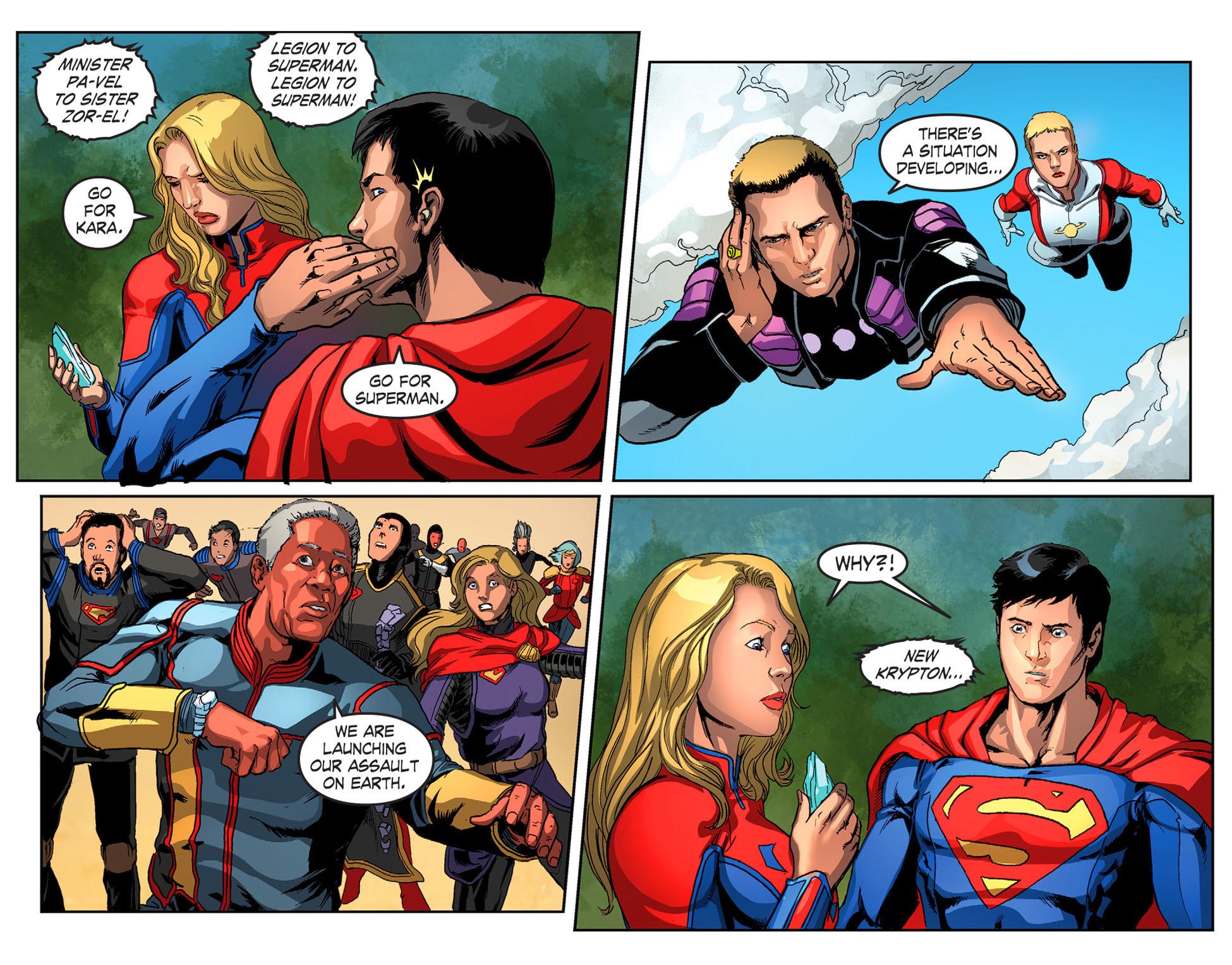 Read online Smallville: Season 11 comic -  Issue #51 - 21