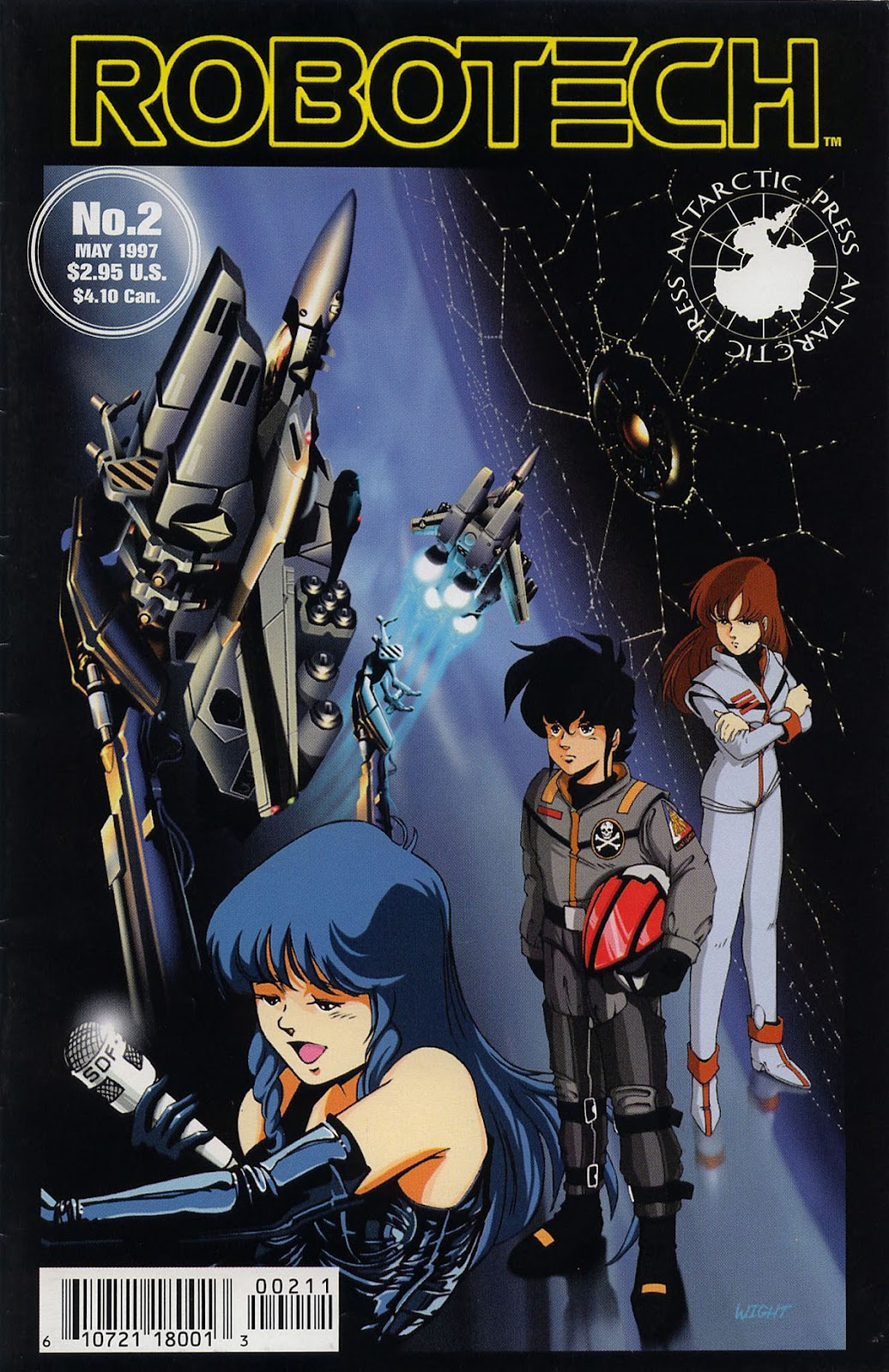 Robotech (1997) issue 2 - Page 1