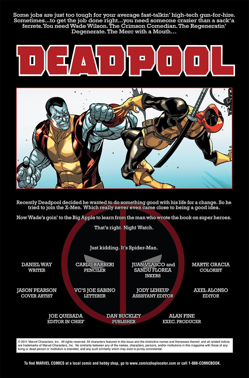 Read online Deadpool (2008) comic -  Issue #19 - 2
