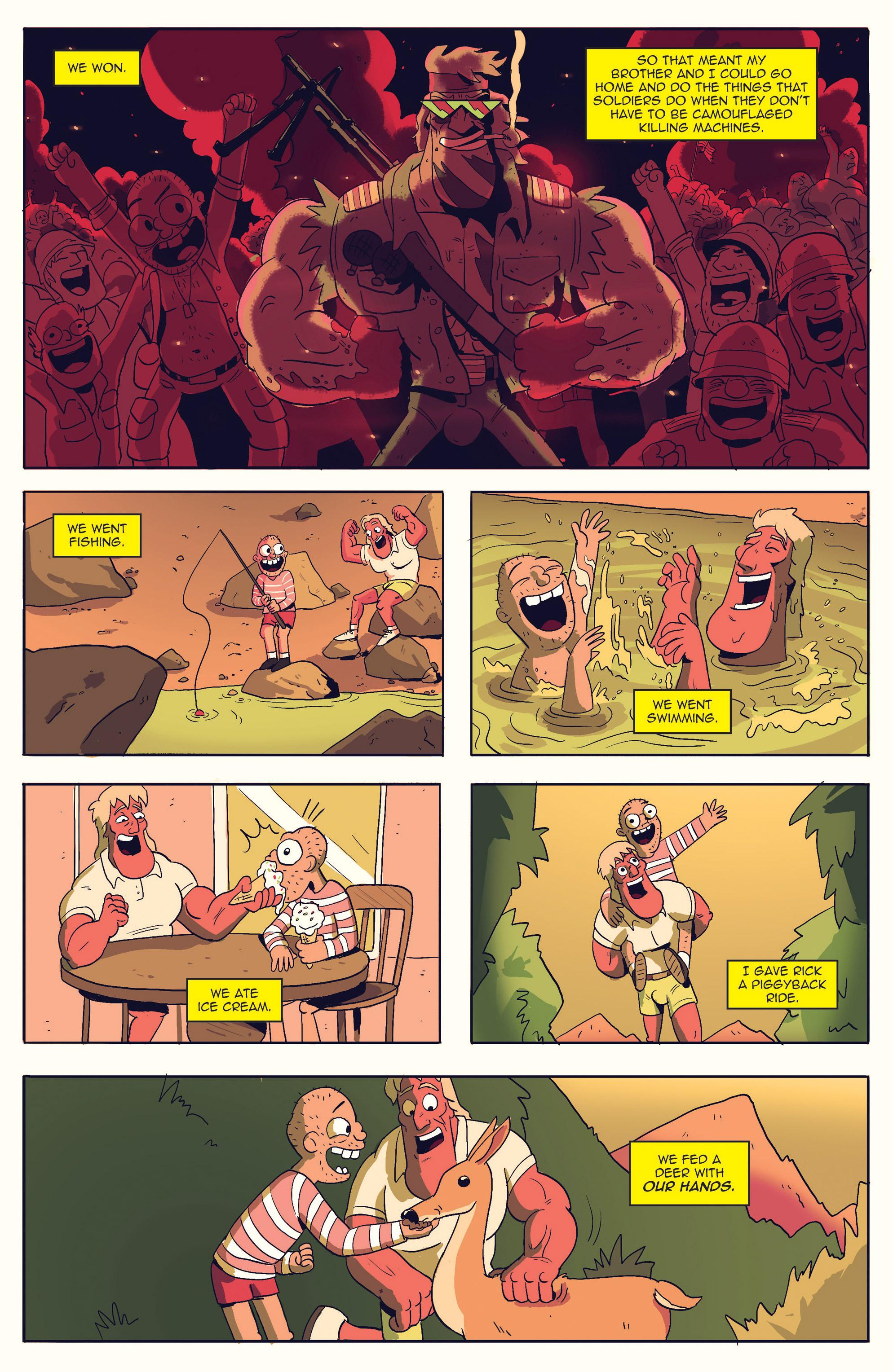 Read online AmeriKarate comic -  Issue #2 - 13