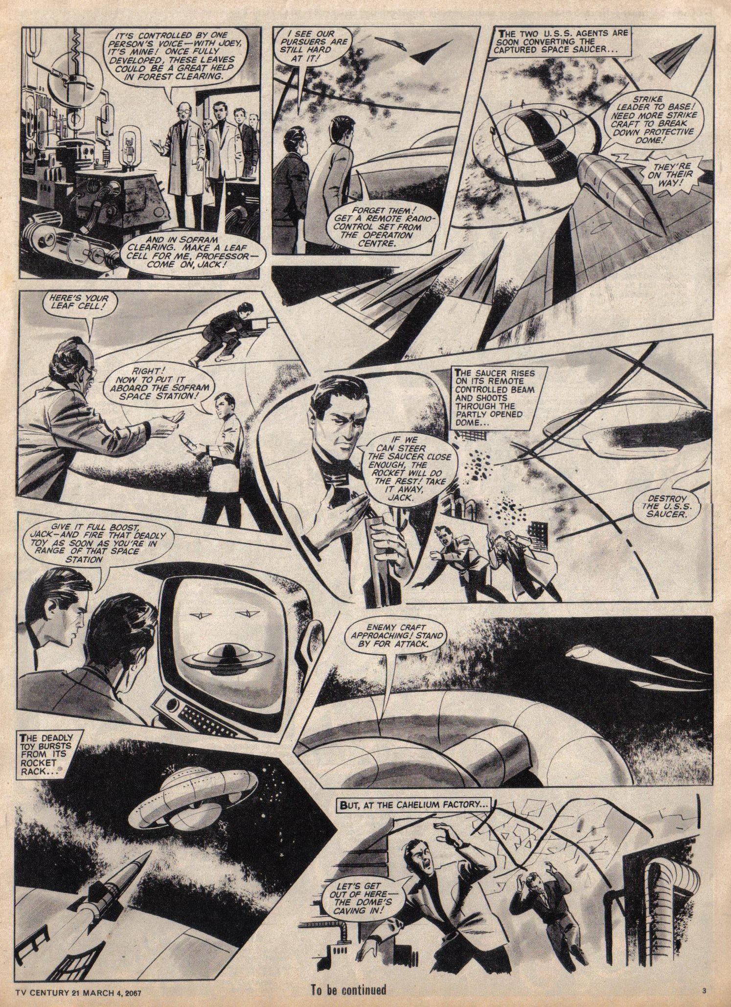 Read online TV Century 21 (TV 21) comic -  Issue #111 - 3