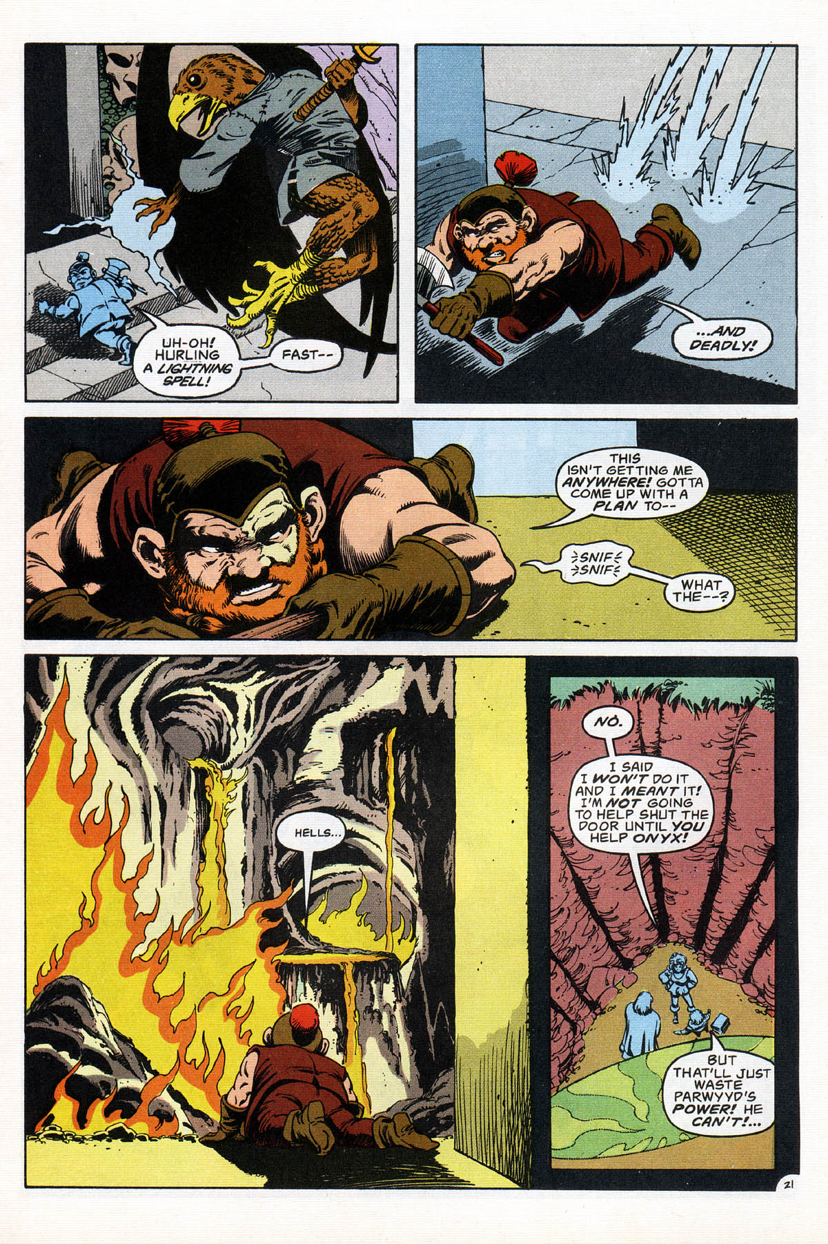 Read online Advanced Dungeons & Dragons comic -  Issue #17 - 26