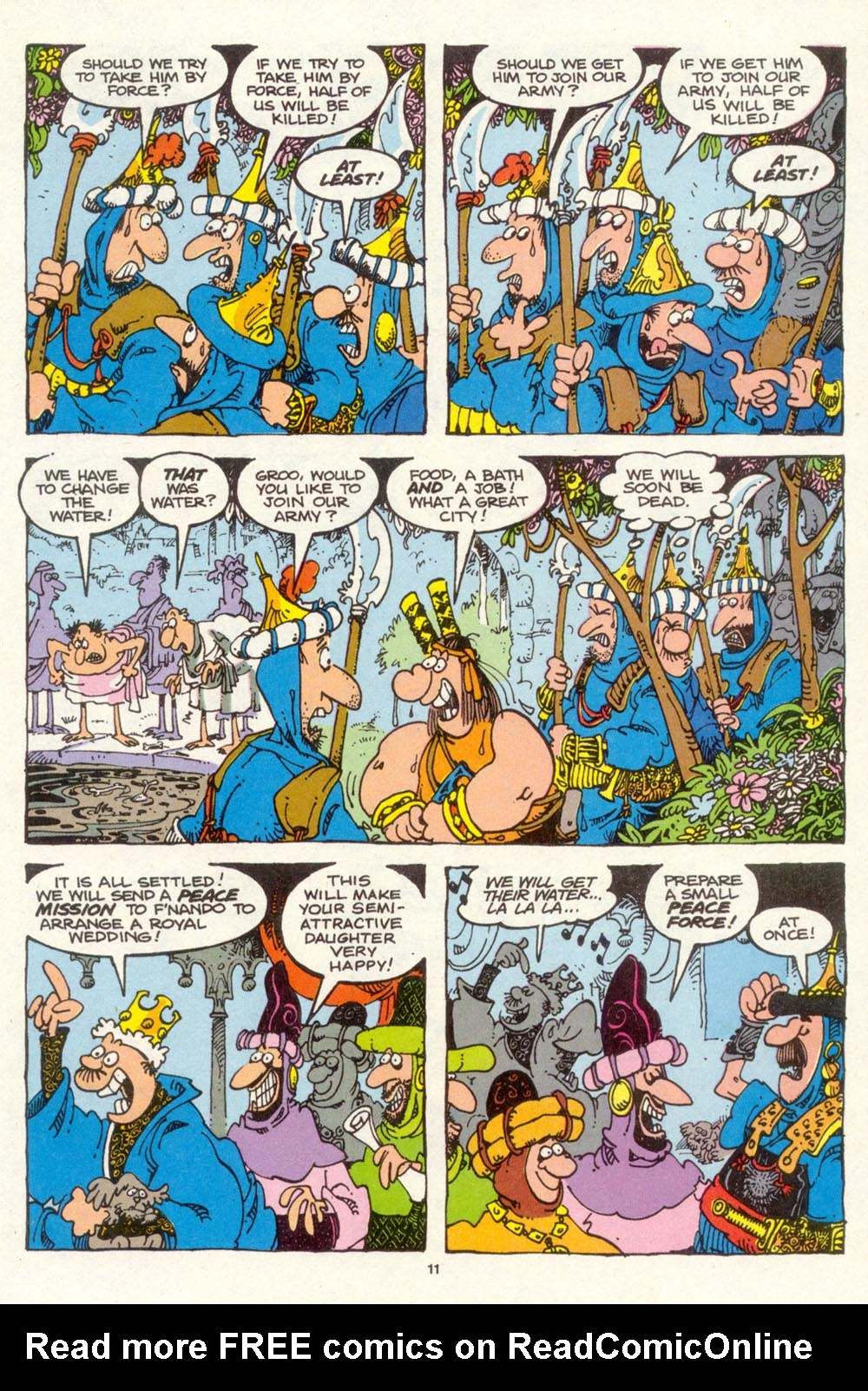 Read online Sergio Aragonés Groo the Wanderer comic -  Issue #94 - 12