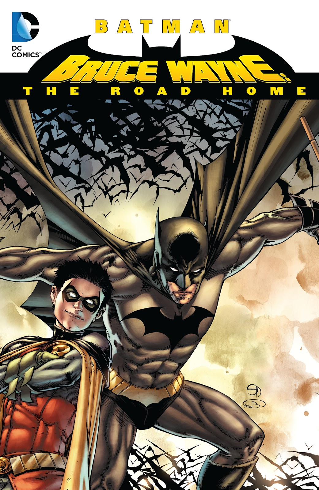 Batman: Bruce Wayne - The Road Home TPB Page 1