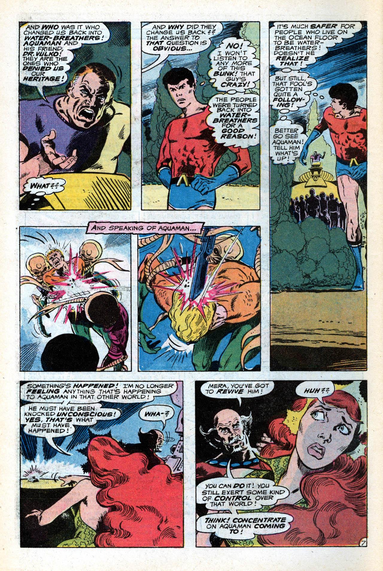 Read online Aquaman (1962) comic -  Issue #55 - 10