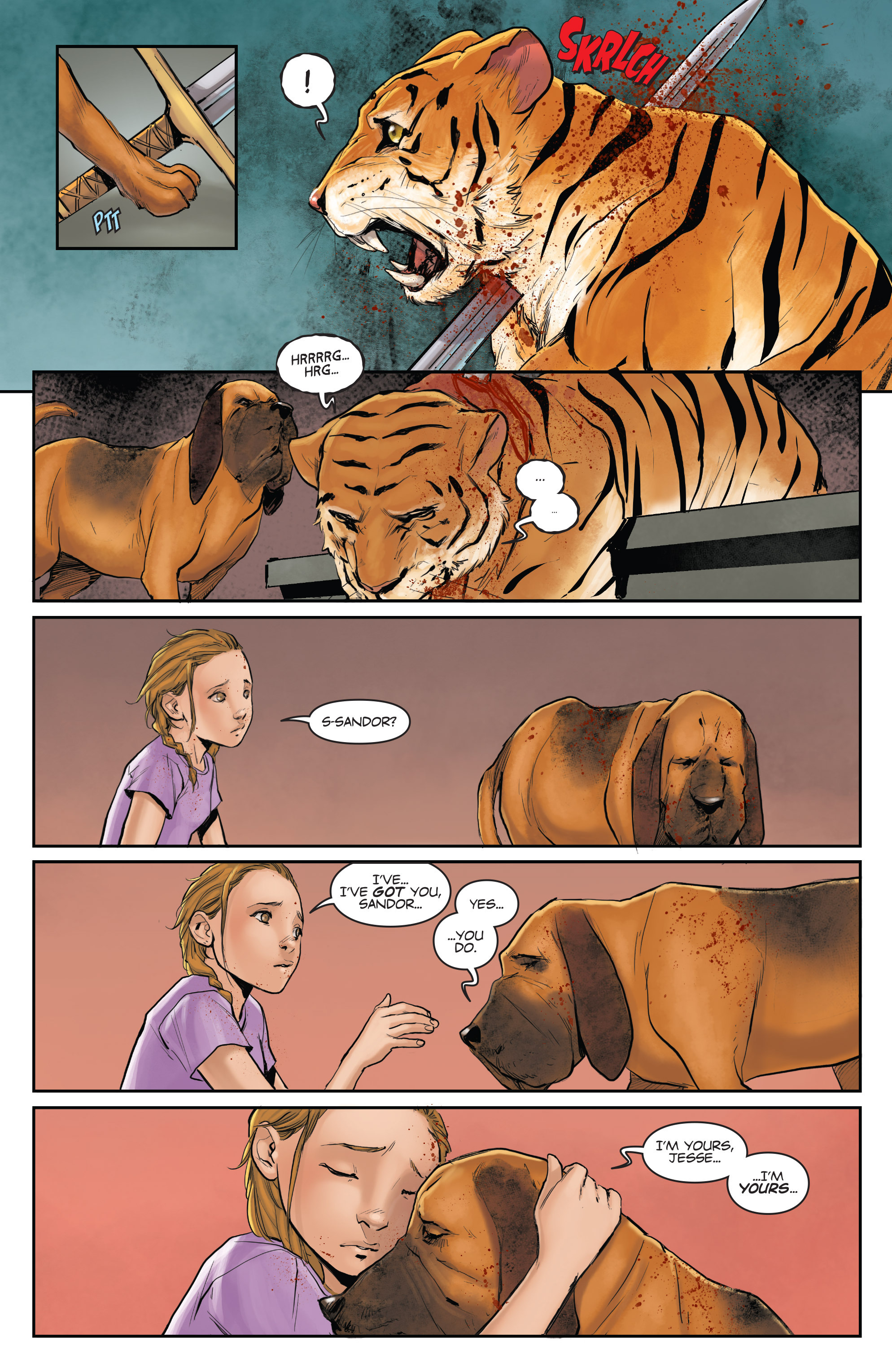 Read online Animosity comic -  Issue #1 - 17